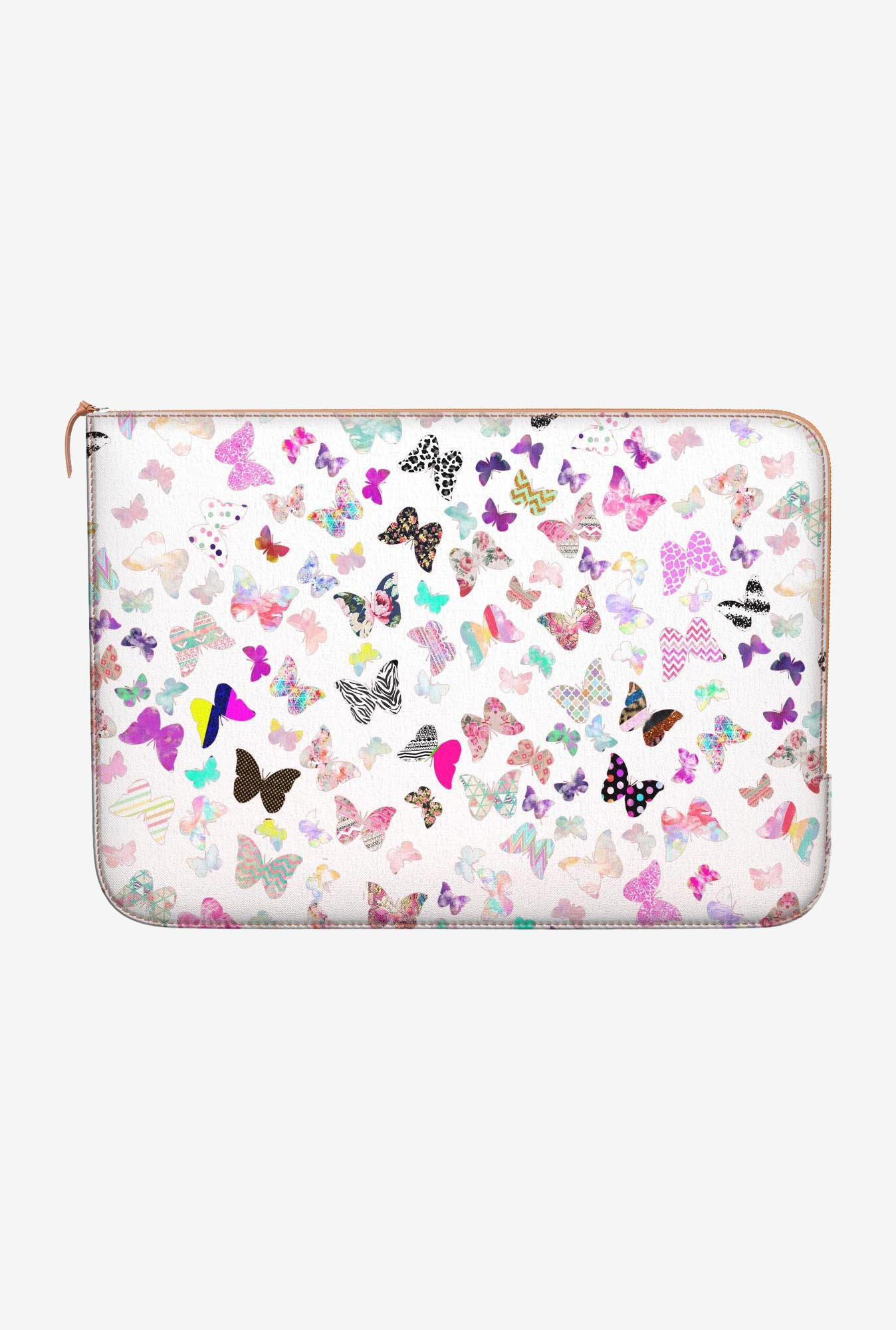 DailyObjects Butterfly MacBook 12 Zippered Sleeve