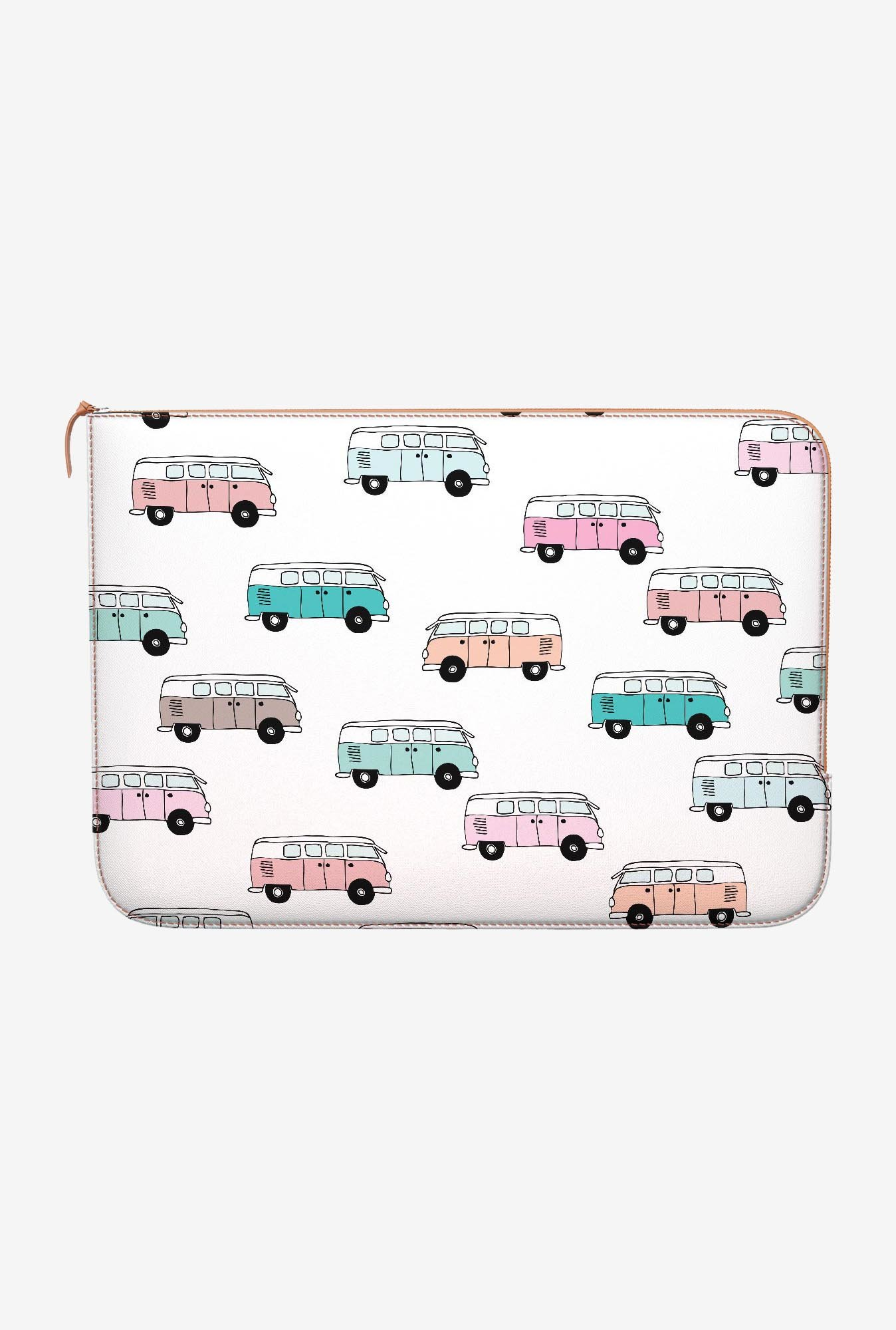 DailyObjects Hippie Bus MacBook 12 Zippered Sleeve
