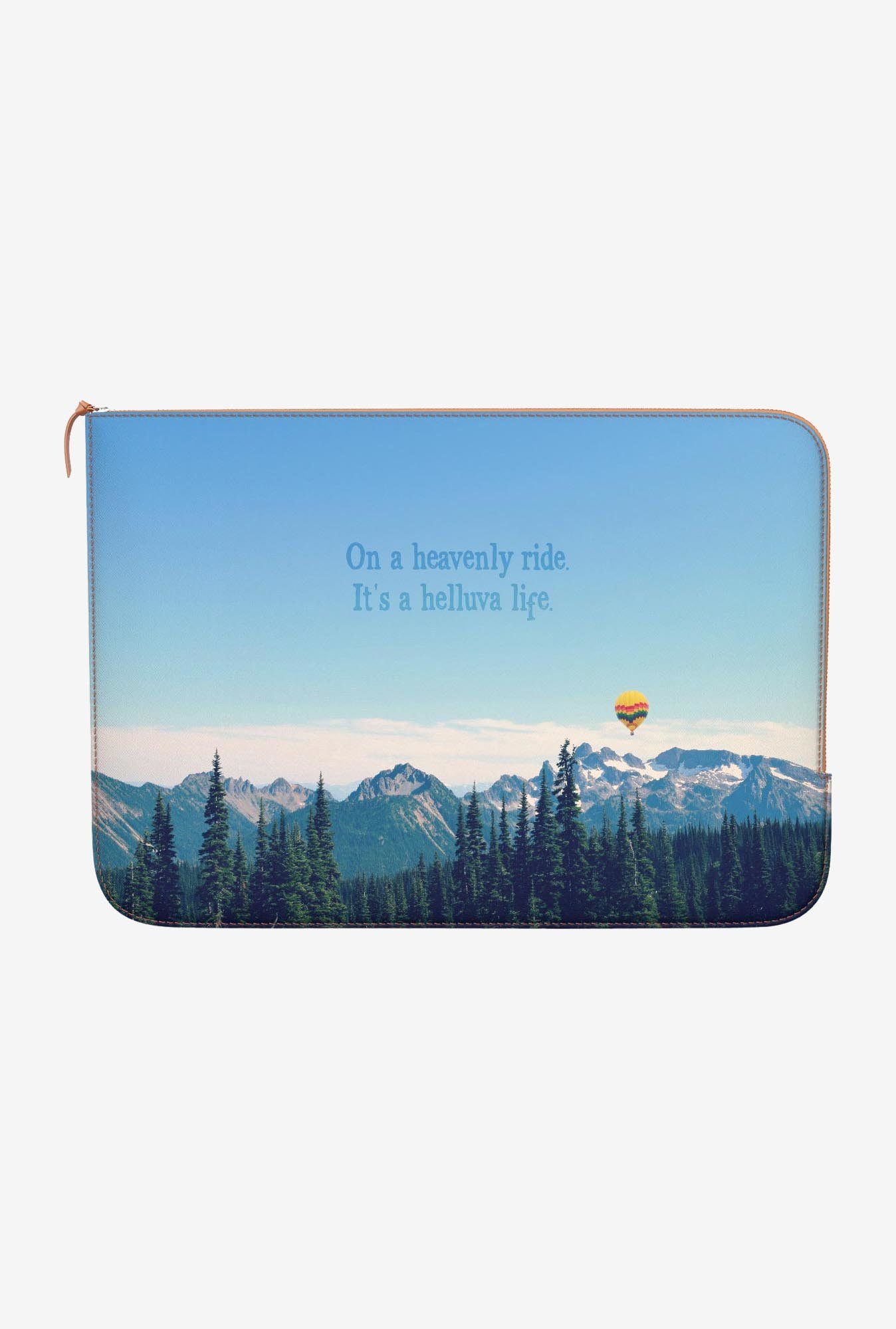DailyObjects Helluva Life MacBook Air 11 Zippered Sleeve