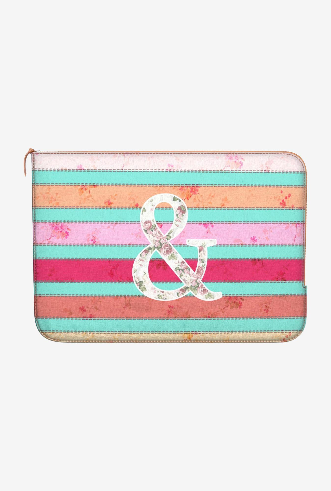 DailyObjects Ampersand MacBook Pro 15 Zippered Sleeve