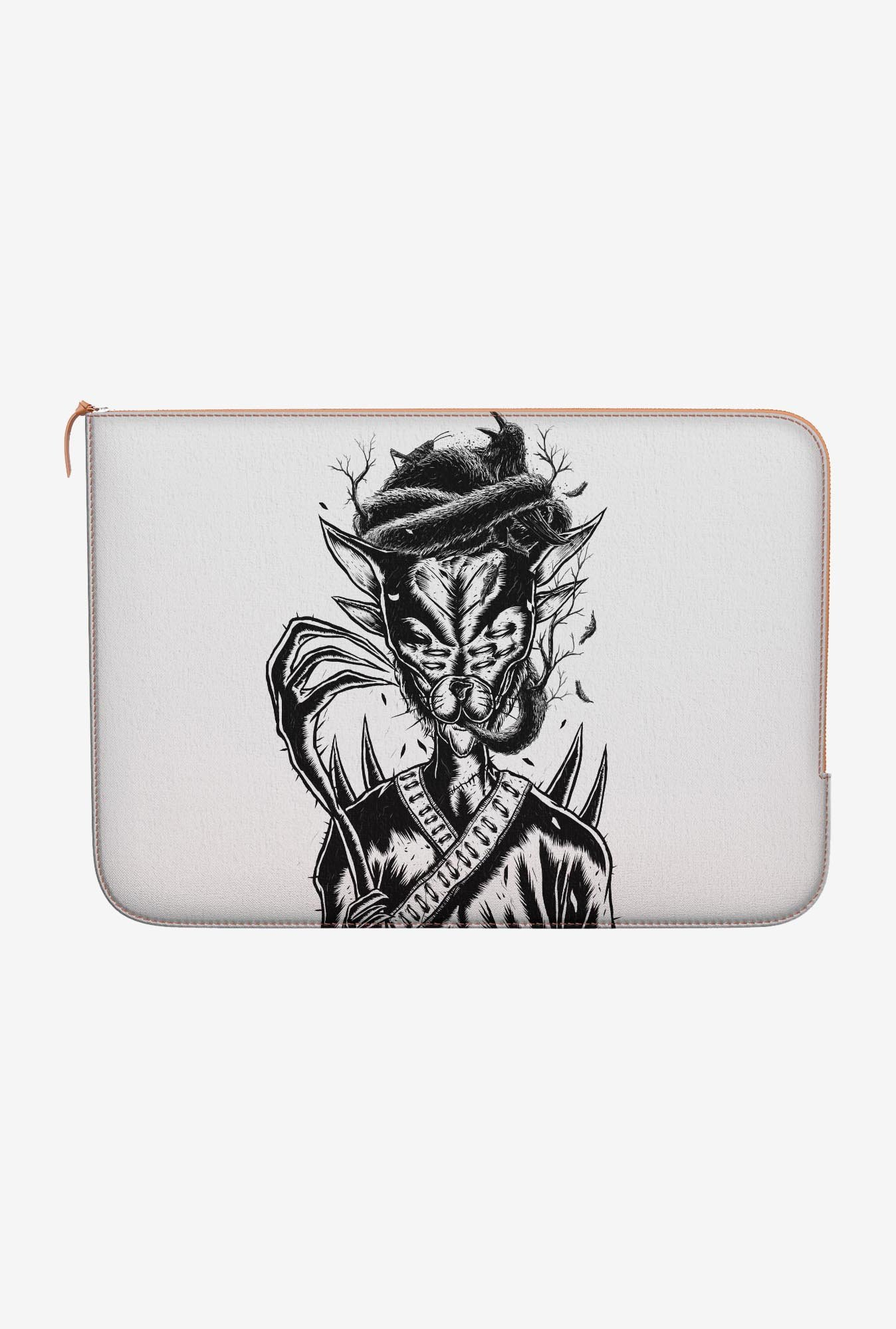 DailyObjects Hermit Cat MacBook 12 Zippered Sleeve
