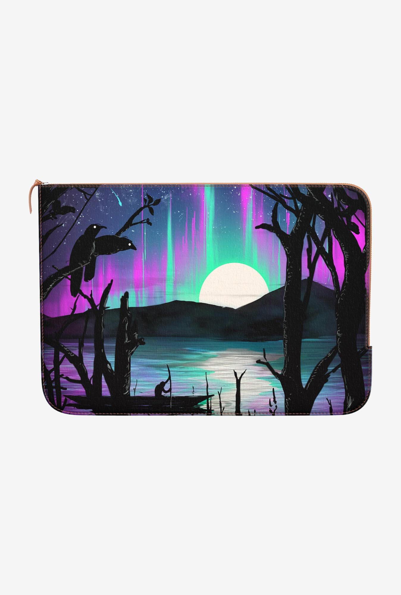 DailyObjects Night Aurora MacBook Air 13 Zippered Sleeve