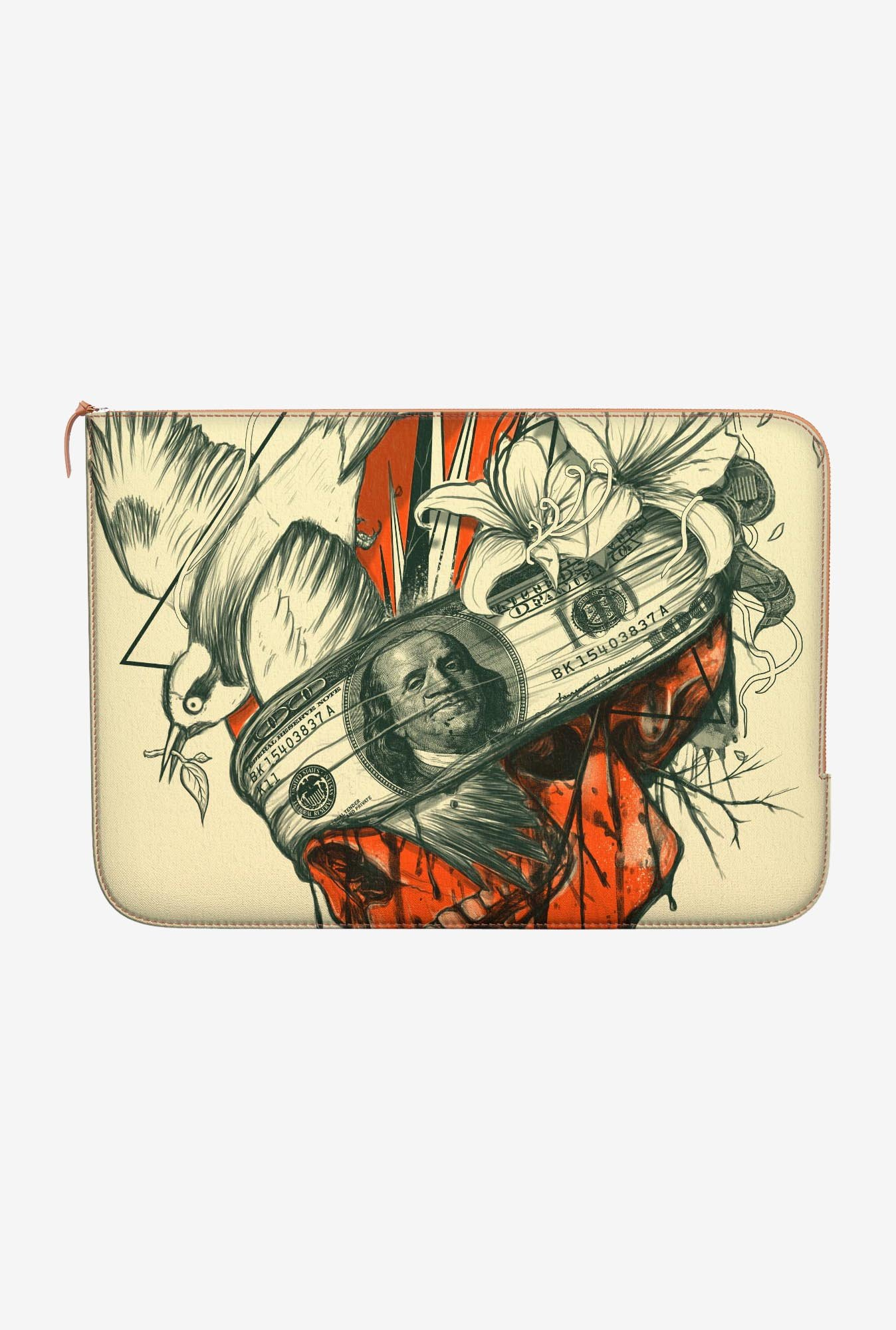 DailyObjects Blind Skull MacBook Pro 15 Zippered Sleeve