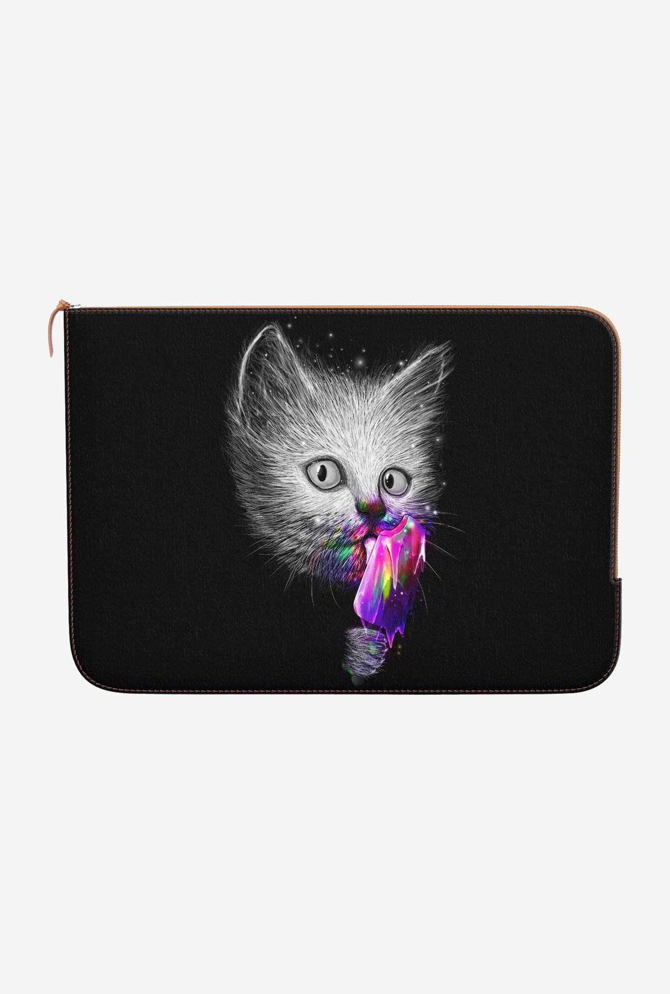 DailyObjects Cat Slurp MacBook Pro 15 Zippered Sleeve
