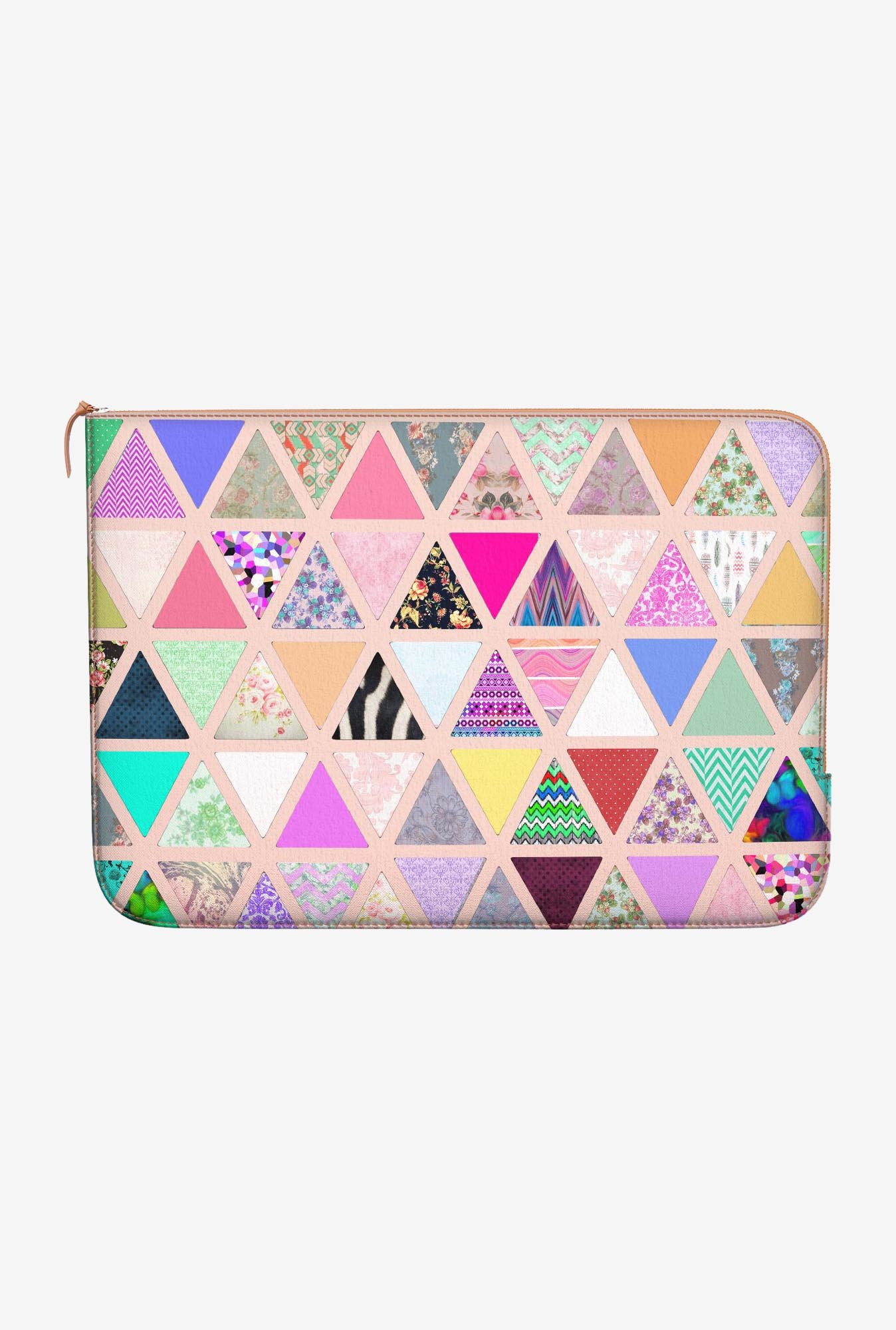 DailyObjects Abstract Floral MacBook Pro 15 Zippered Sleeve