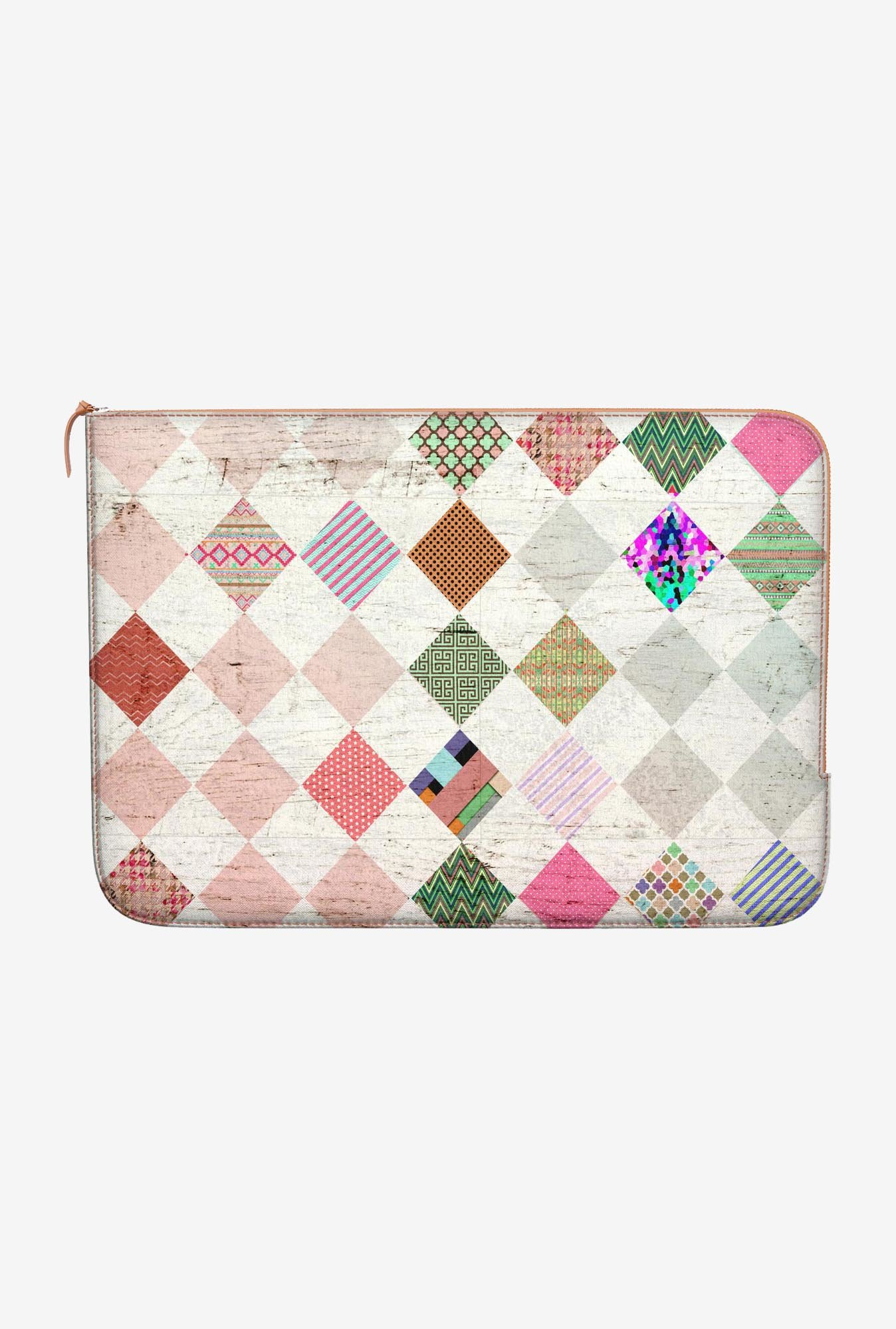 DailyObjects Diamond Shapes MacBook Pro 15 Zippered Sleeve