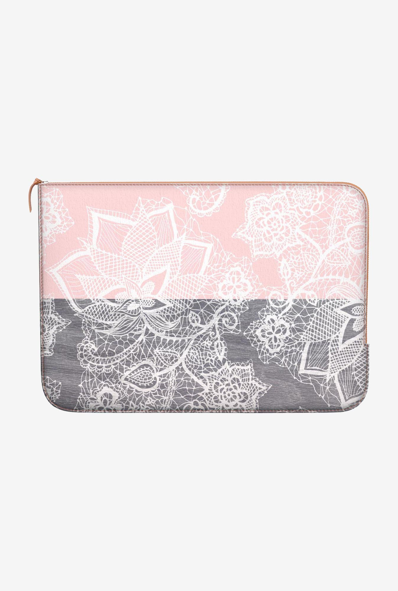 DailyObjects Pink Blocks MacBook Pro 15 Zippered Sleeve