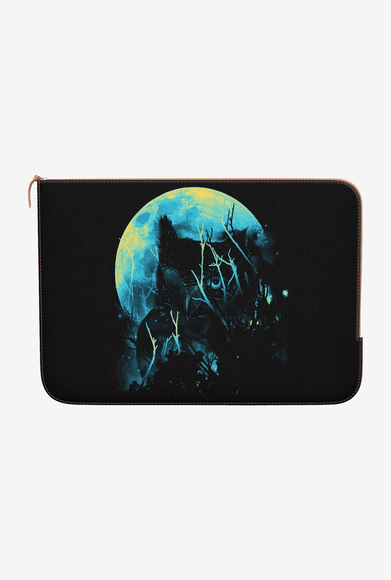 DailyObjects Lurking Owl MacBook Pro 15 Zippered Sleeve