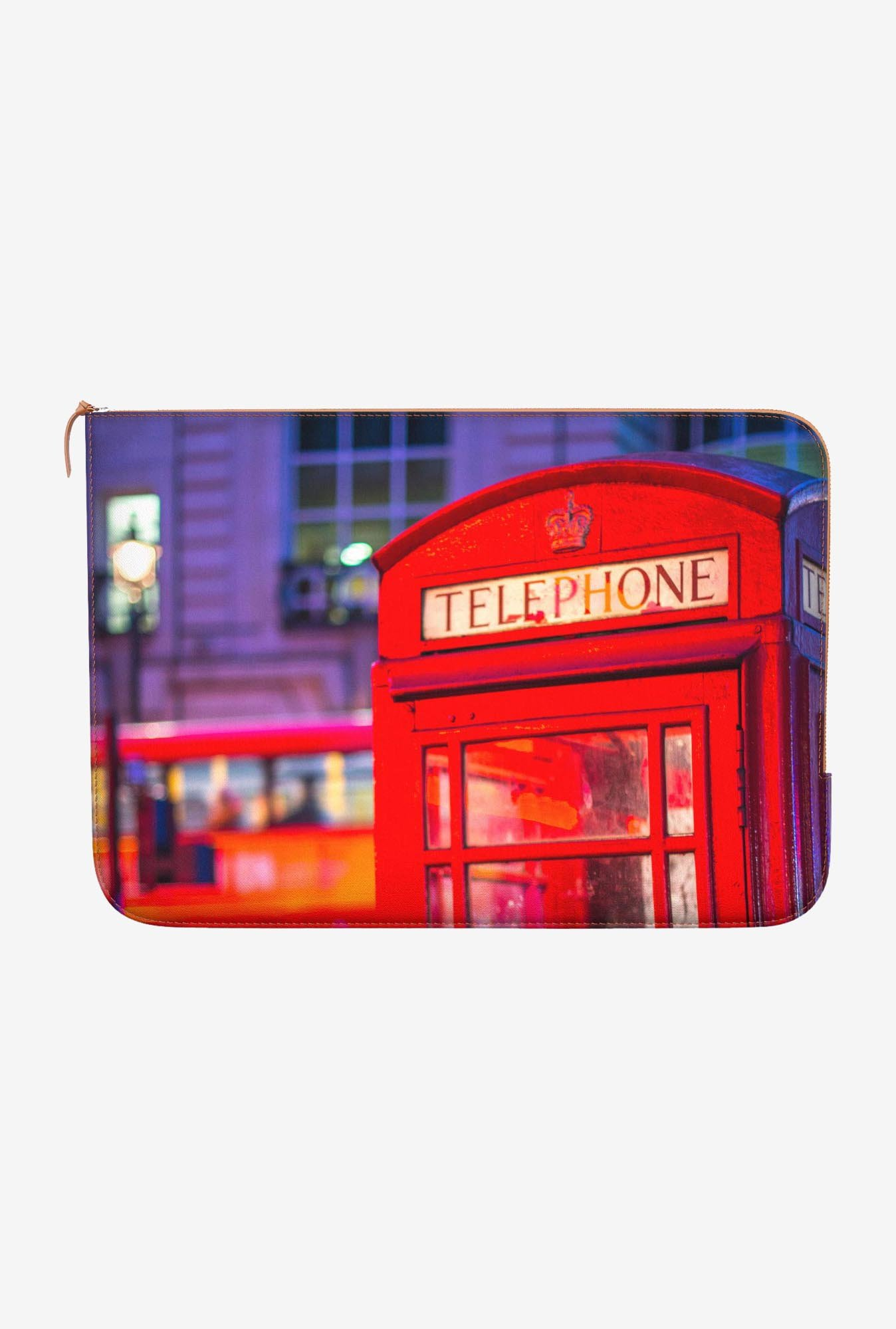 DailyObjects Telephone Box MacBook Pro 15 Zippered Sleeve