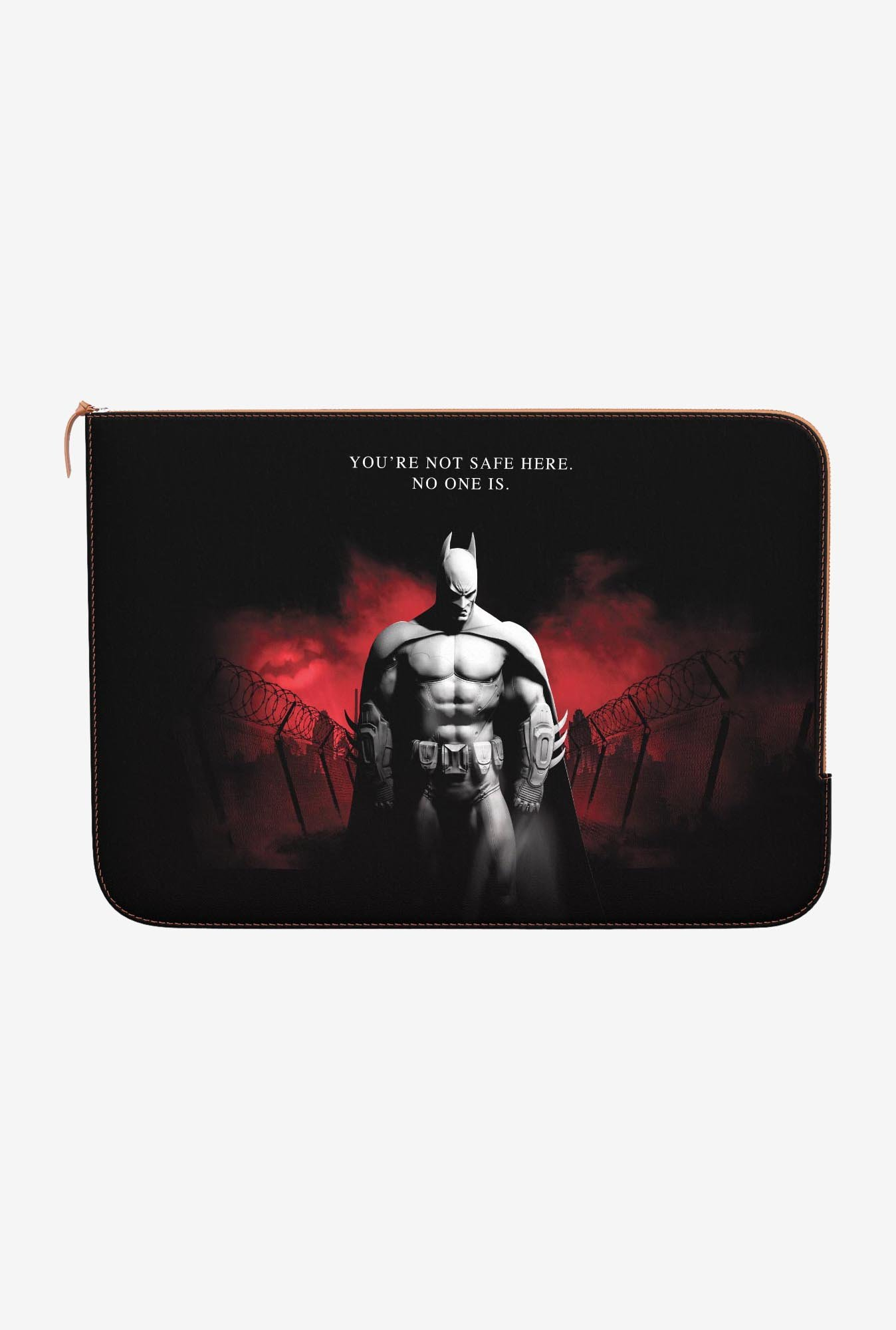 DailyObjects You R Not Safe MacBook 12 Zippered Sleeve