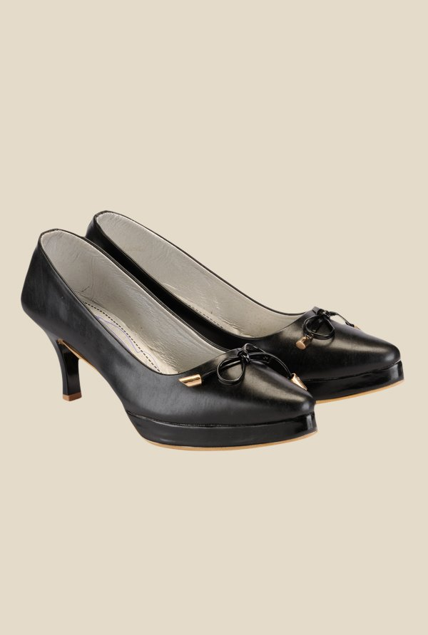 Nell Black Casual Pumps