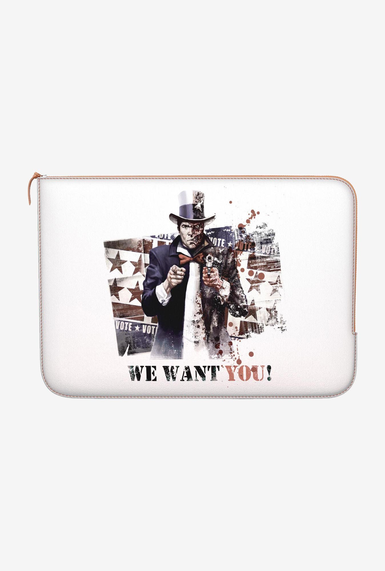 DailyObjects Two Face MacBook Pro 13 Zippered Sleeve