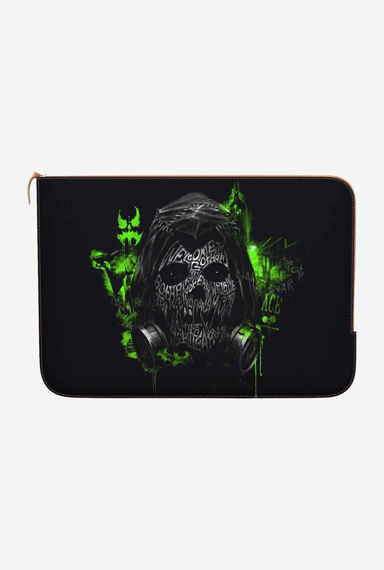 DailyObjects Scarecrow Green MacBook Pro 15 Zippered Sleeve