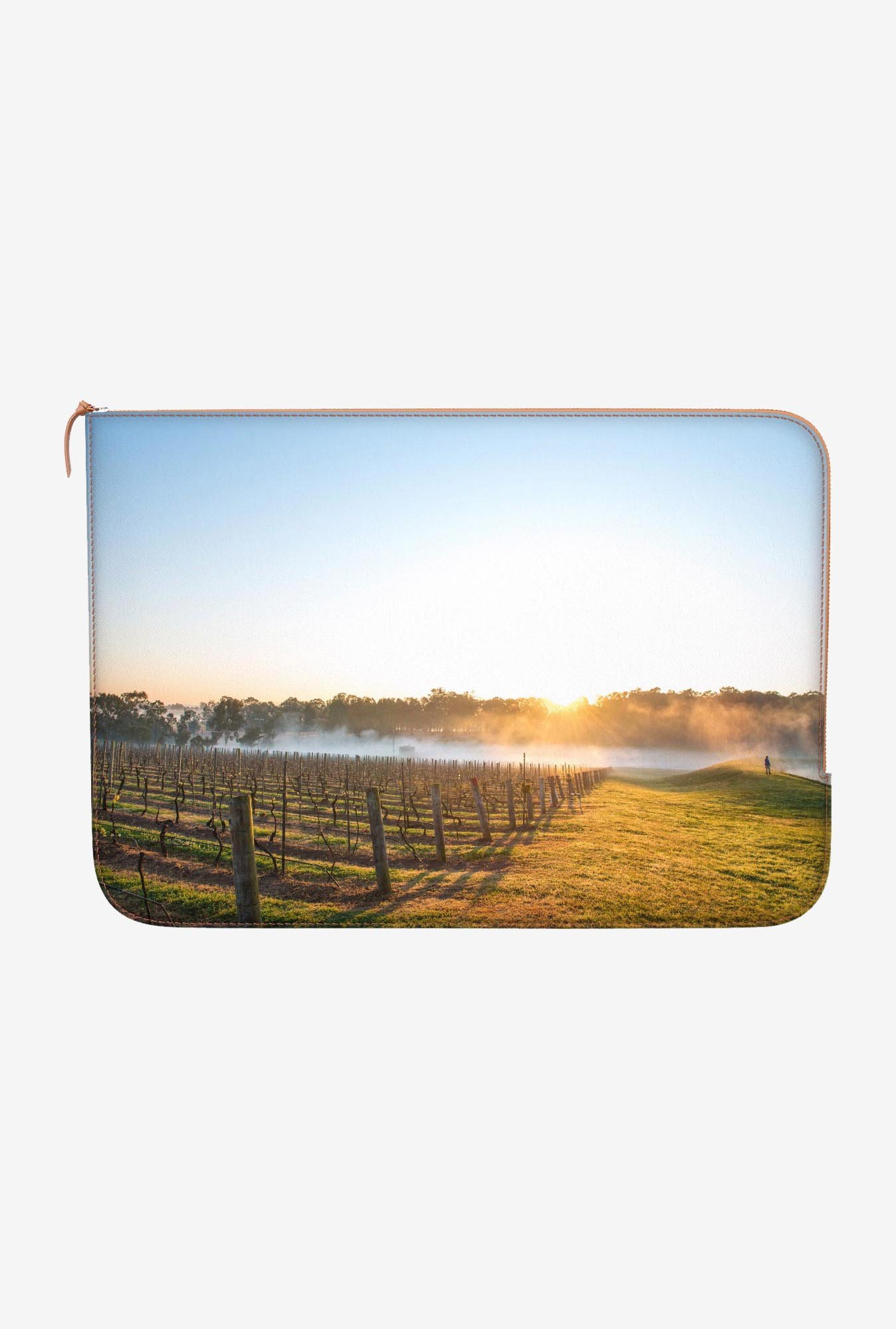 DailyObjects Misty Morning MacBook Pro 15 Zippered Sleeve