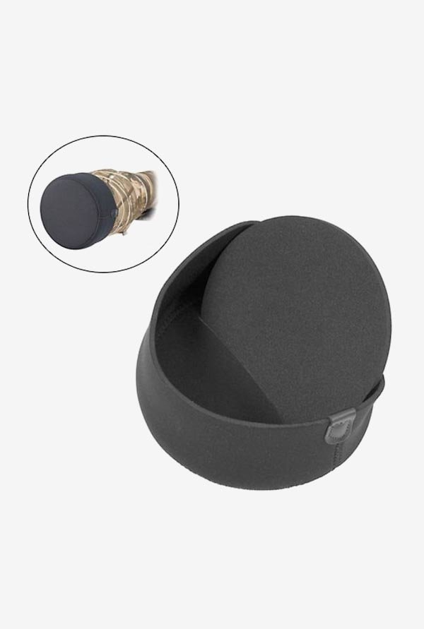 LensCoat IA240028 Lens Hoodie Lens Hood Cover Medium (Black)