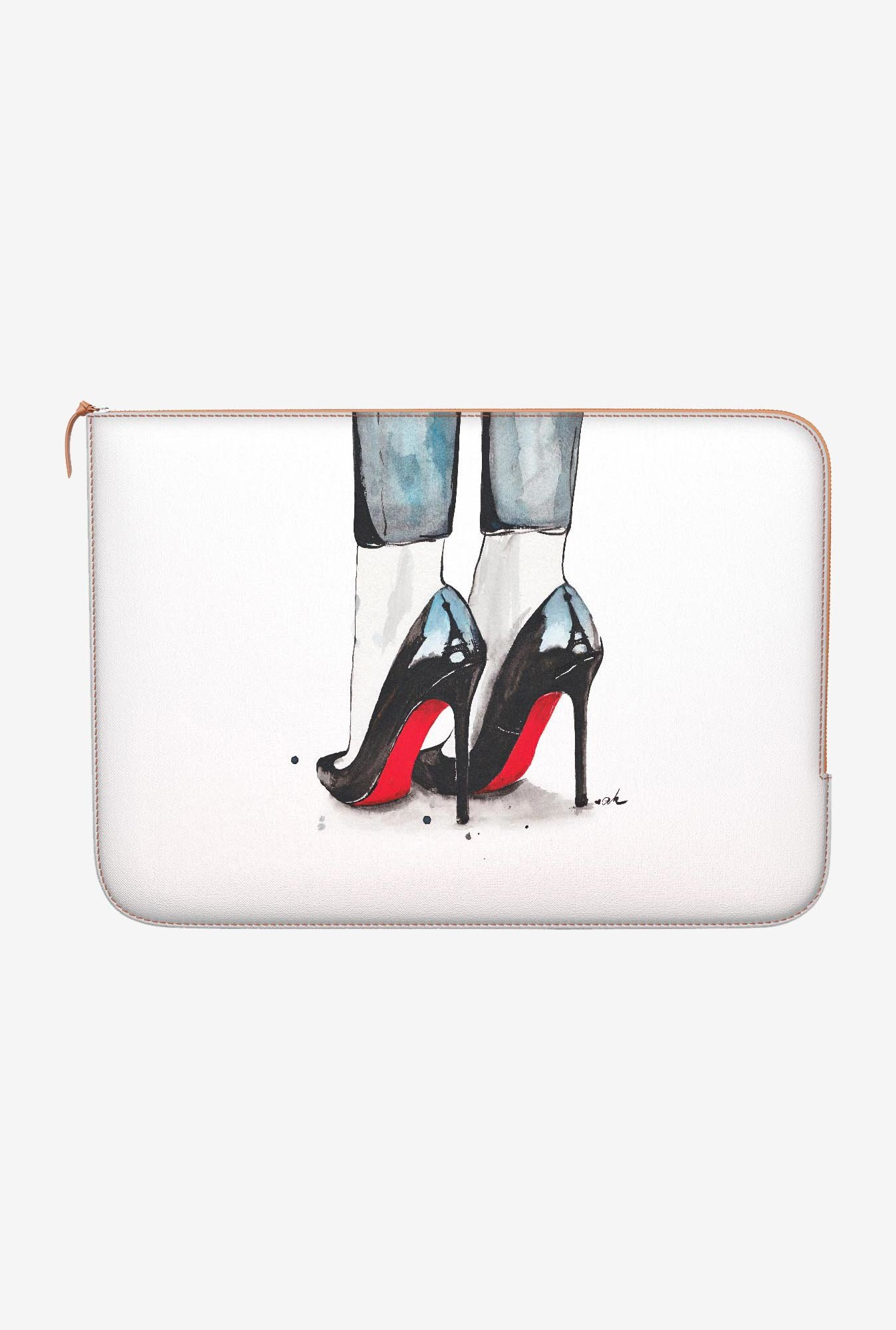 DailyObjects Cloudy In Paris MacBook Pro 13 Zippered Sleeve