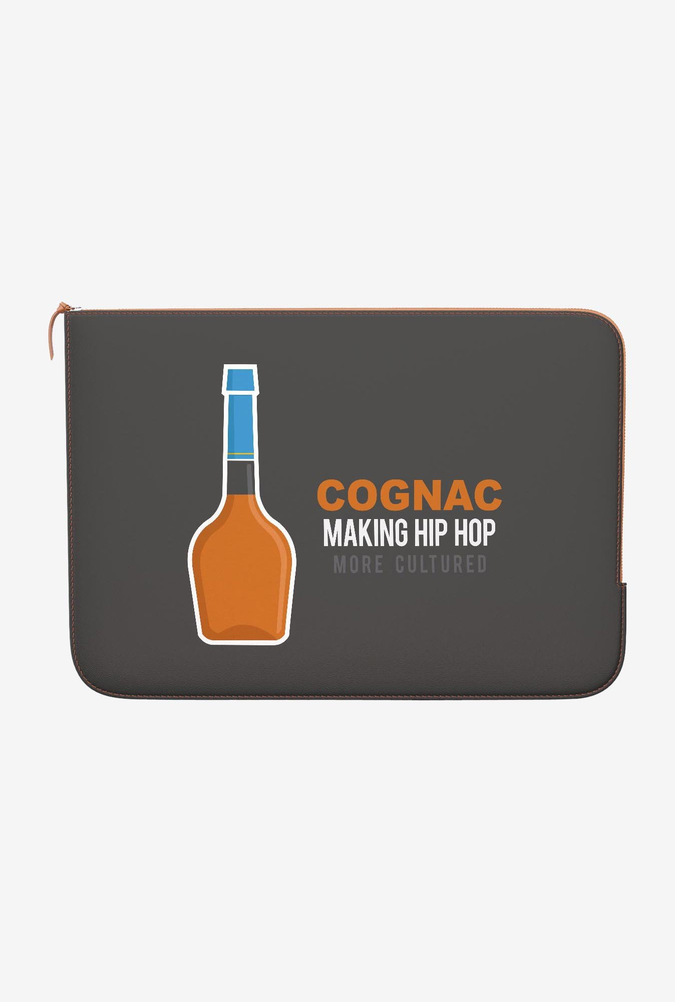 DailyObjects Cognac MacBook Pro 15 Zippered Sleeve