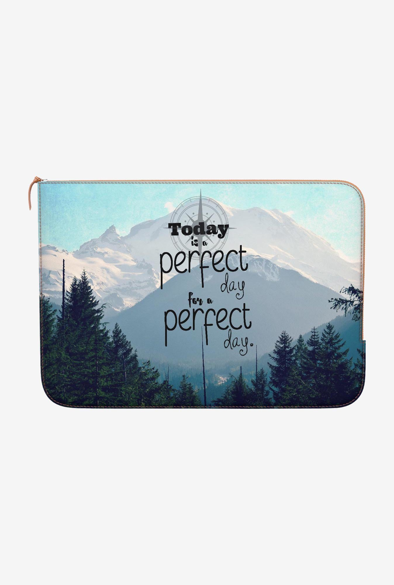 DailyObjects A Perfect Day MacBook Pro 13 Zippered Sleeve