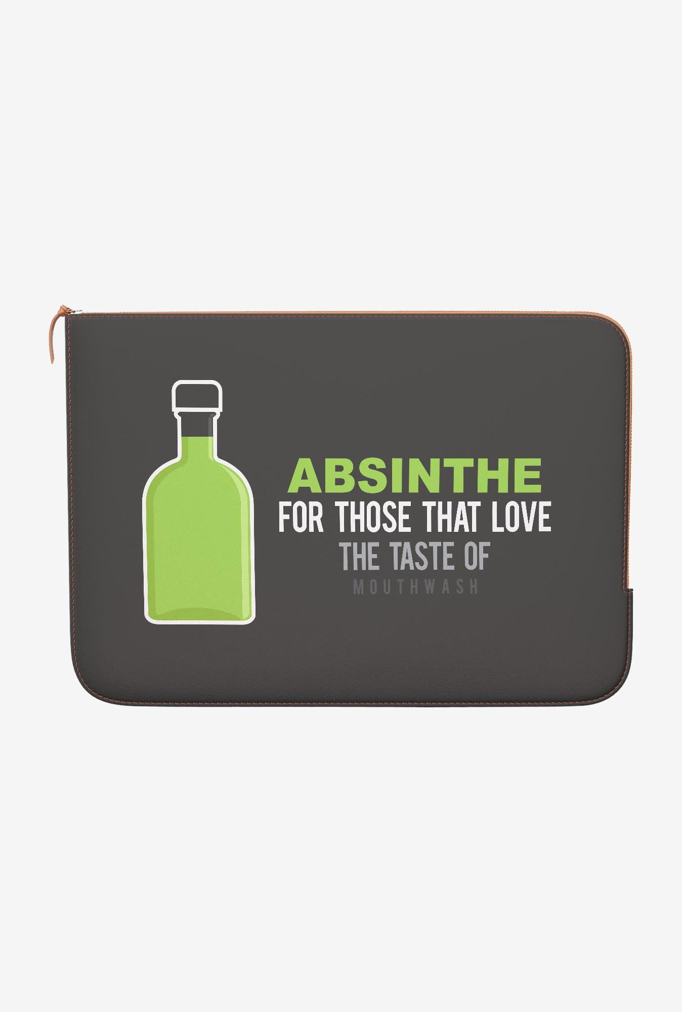 DailyObjects Absinthe MacBook Pro 15 Zippered Sleeve