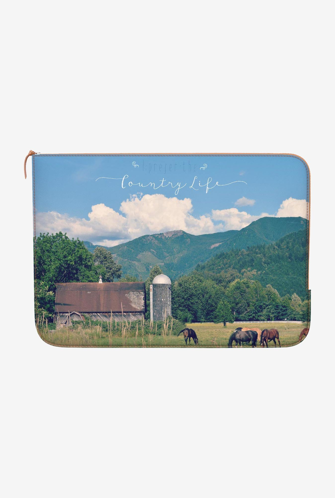 DailyObjects Country Life MacBook 12 Zippered Sleeve