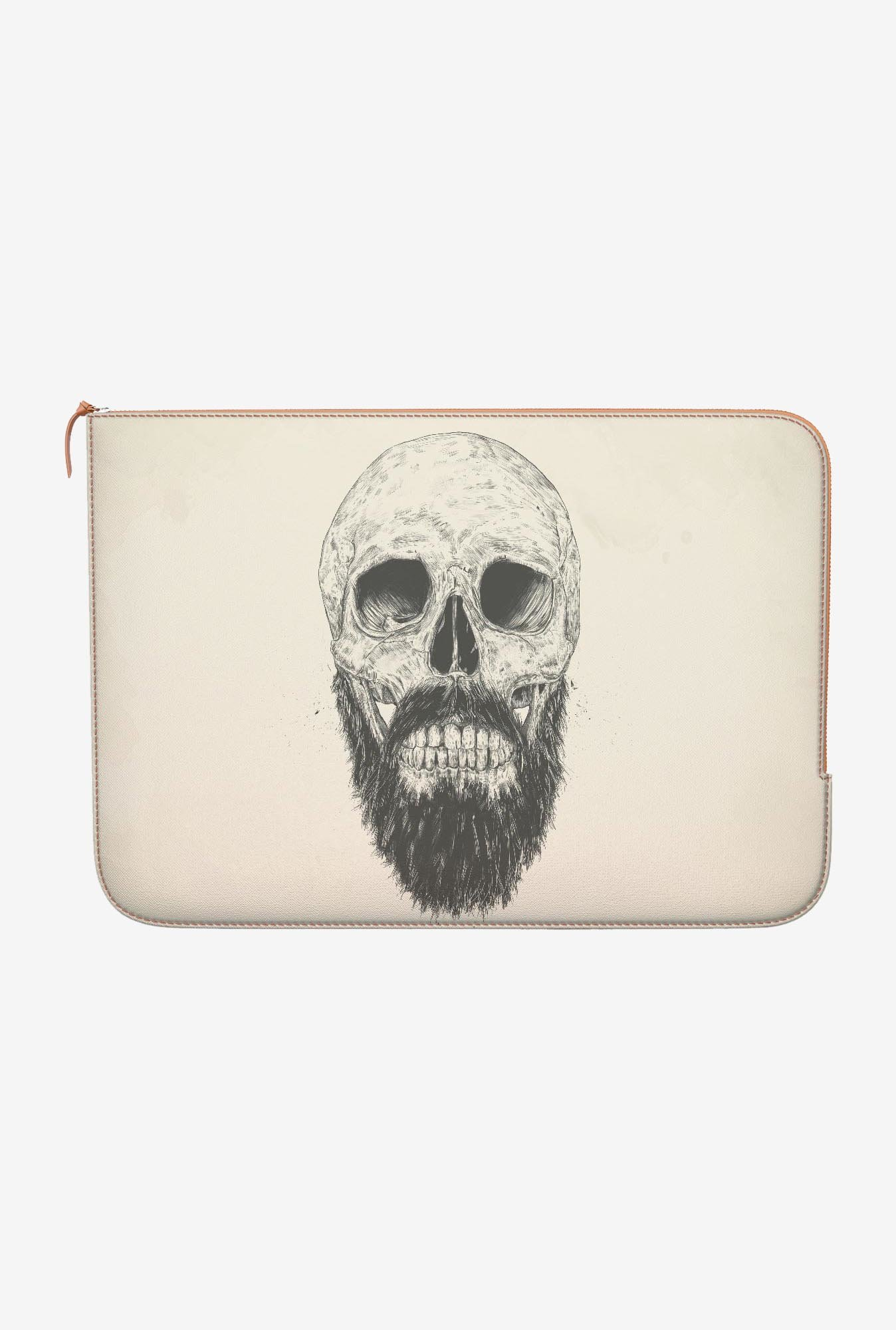 DailyObjects Beard Not Dead MacBook 12 Zippered Sleeve