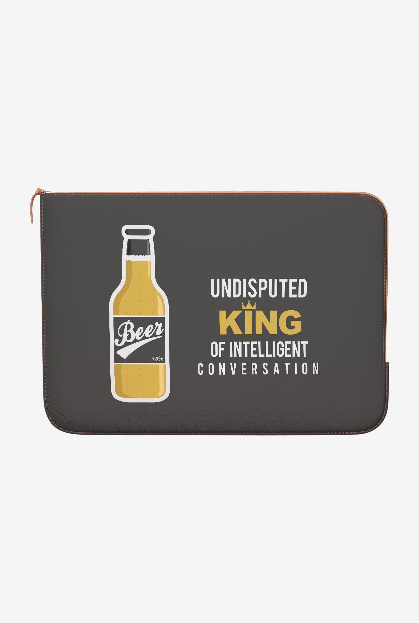 DailyObjects Beer MacBook 12 Zippered Sleeve