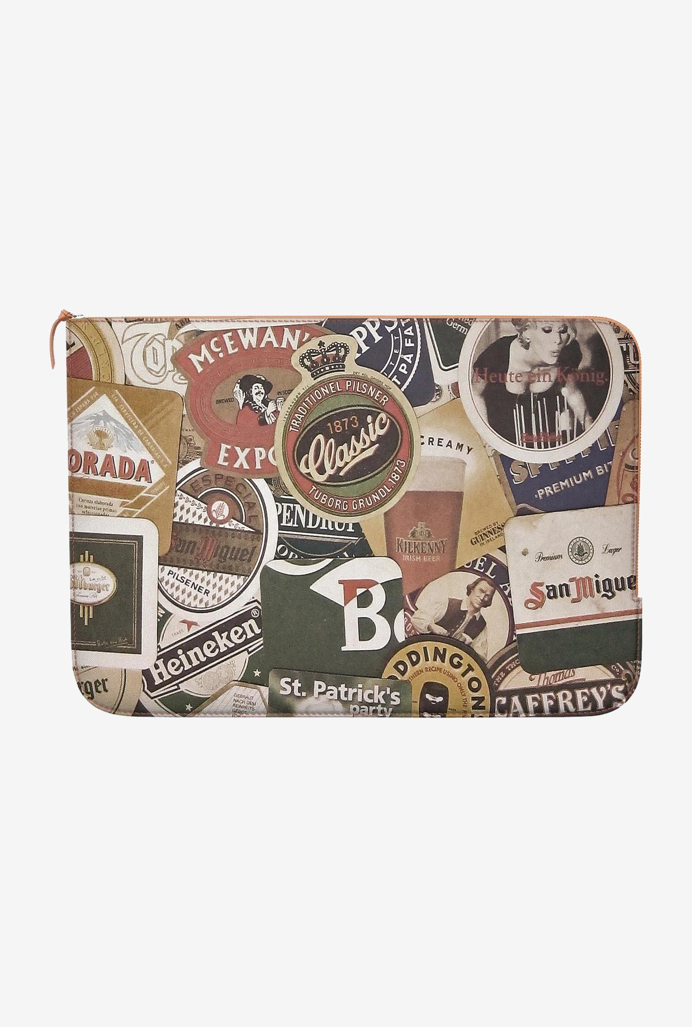 DailyObjects Beers Of World MacBook Air 13 Zippered Sleeve