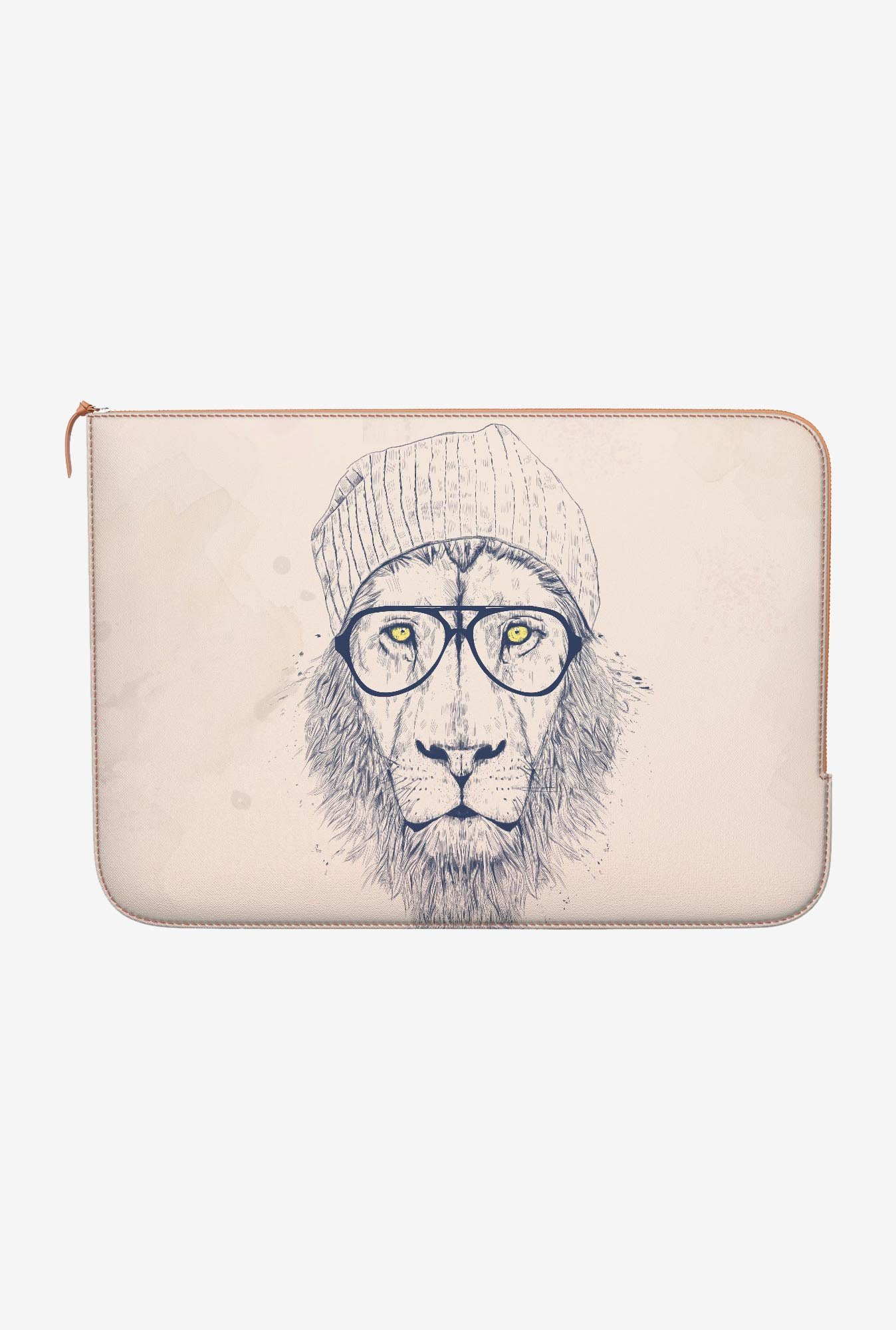 DailyObjects Cool Lion MacBook Pro 15 Zippered Sleeve