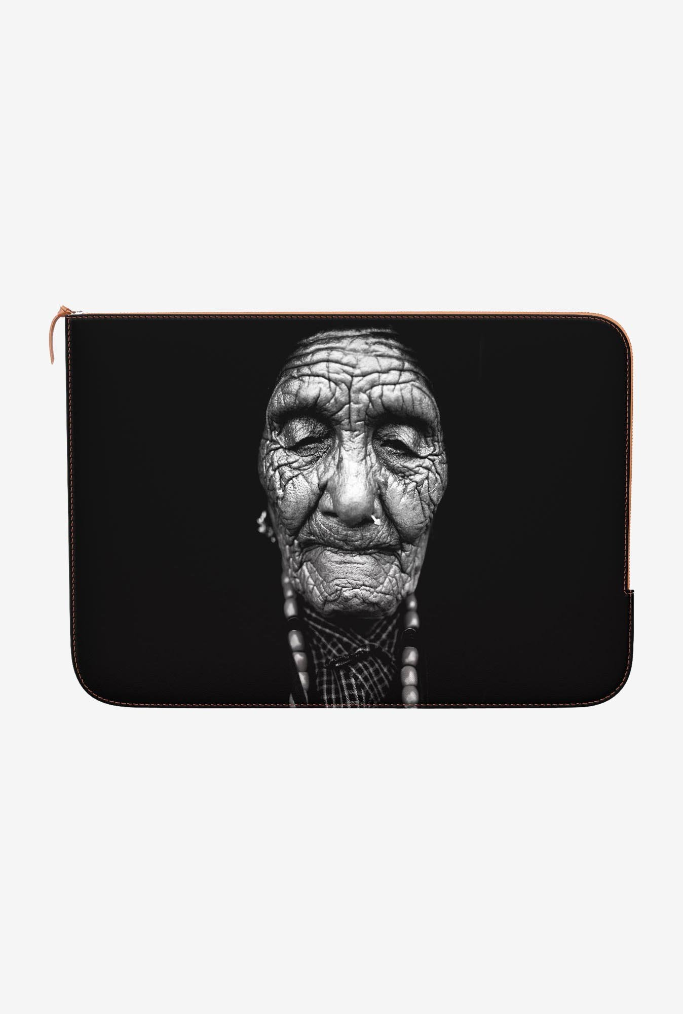 DailyObjects Aged Skin MacBook Air 11 Zippered Sleeve