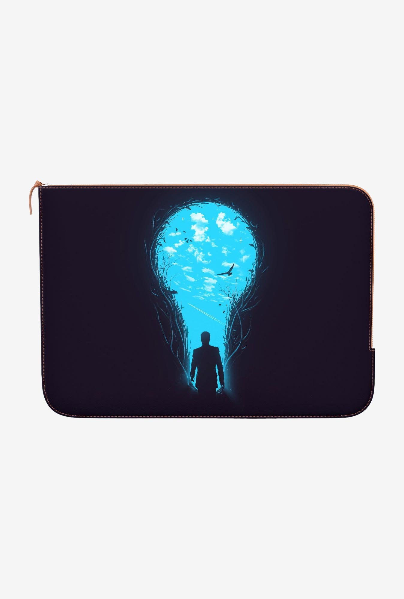 DailyObjects Bright Side MacBook Pro 13 Zippered Sleeve