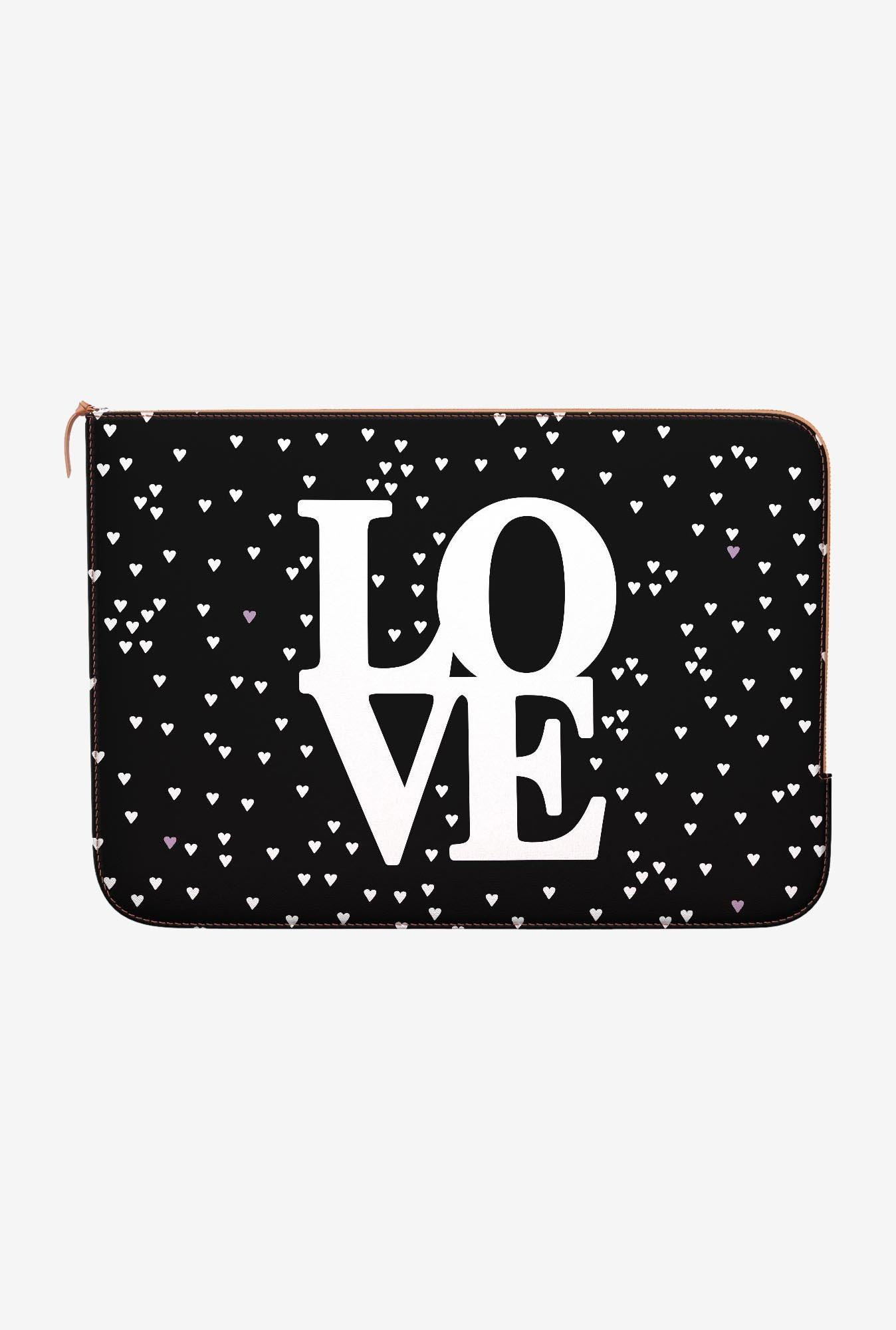 DailyObjects Love Hearts MacBook 12 Zippered Sleeve