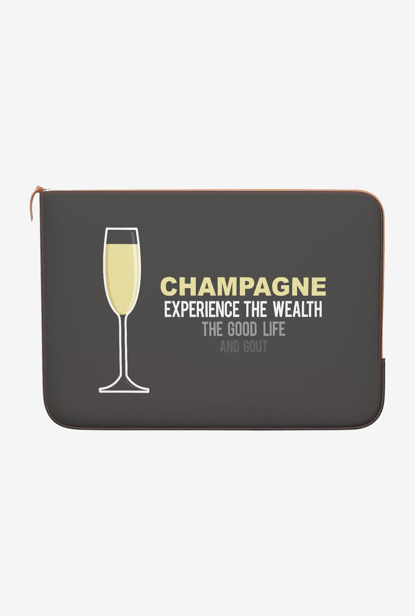 DailyObjects Champagne MacBook Air 13 Zippered Sleeve