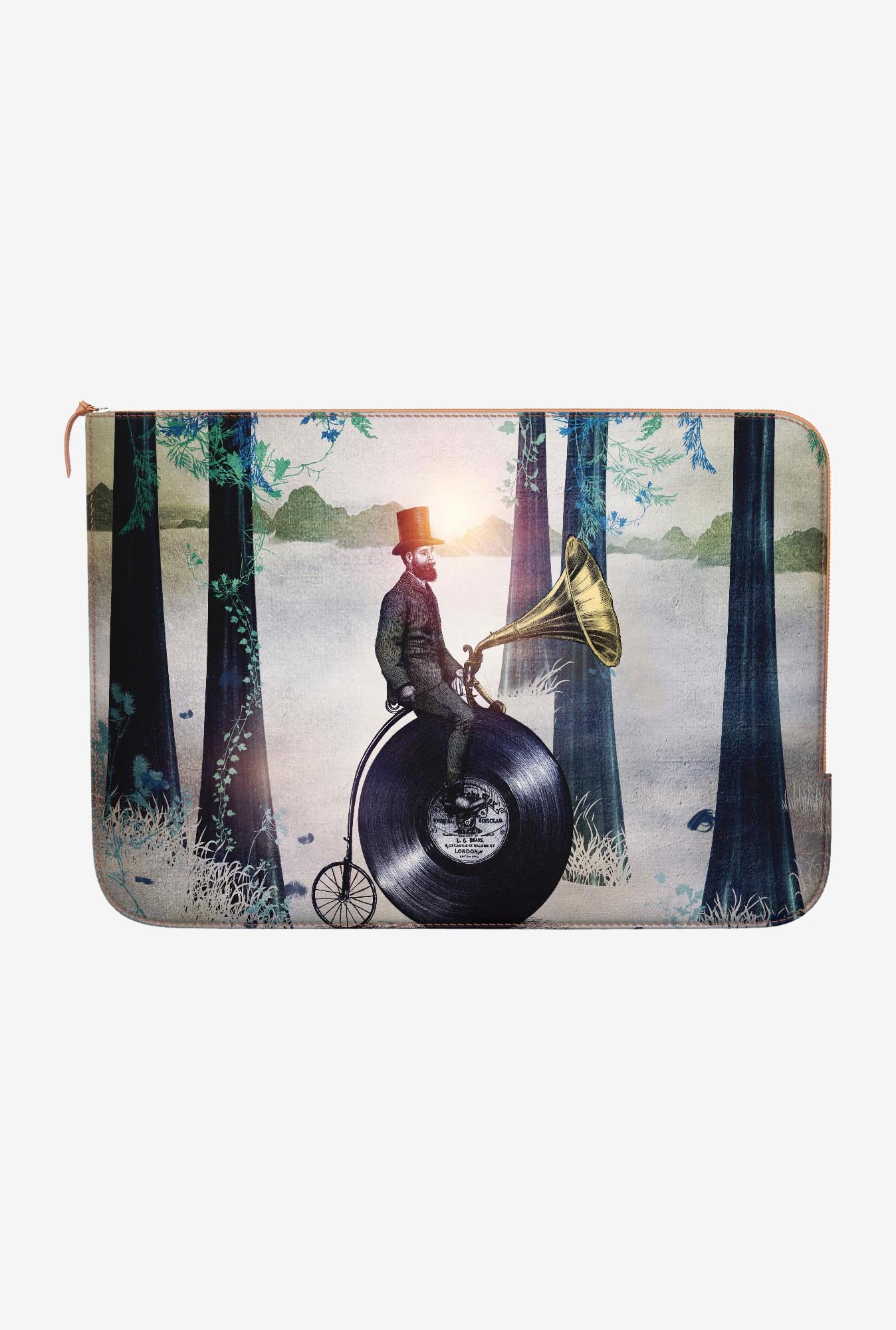 DailyObjects Man In Forest MacBook Pro 13 Zippered Sleeve