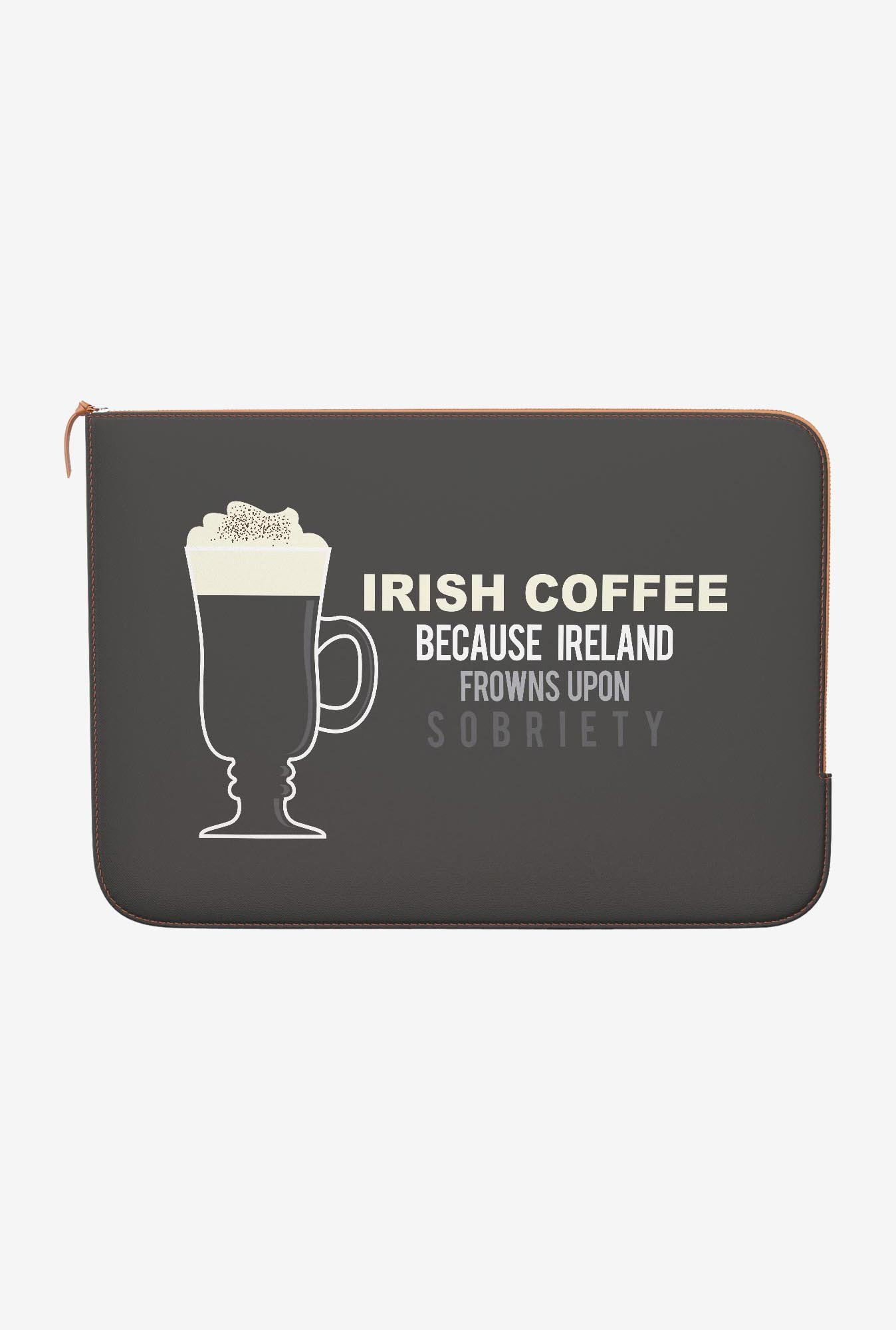 DailyObjects Irish Coffee MacBook Air 13 Zippered Sleeve