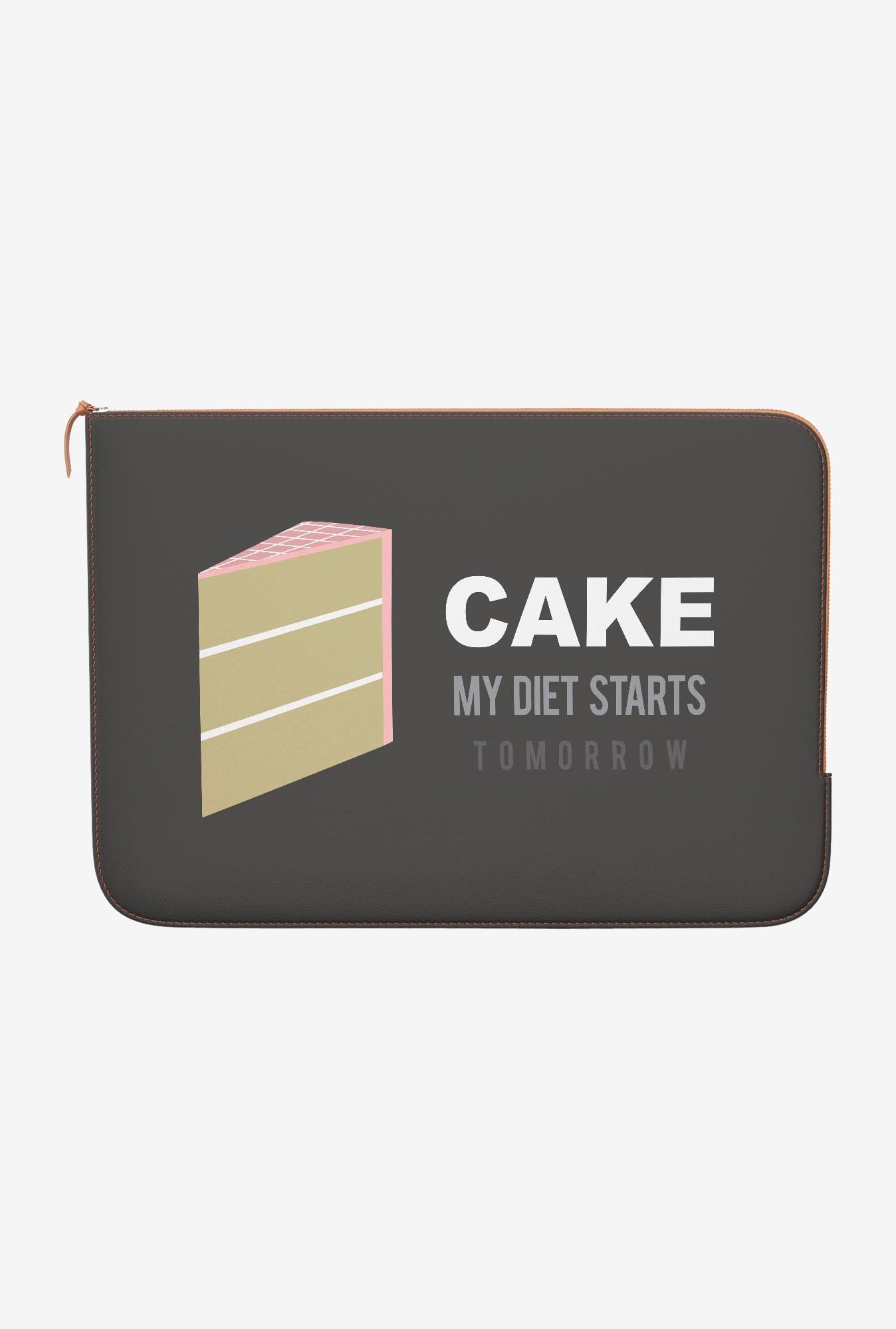 DailyObjects Cake MacBook 12 Zippered Sleeve