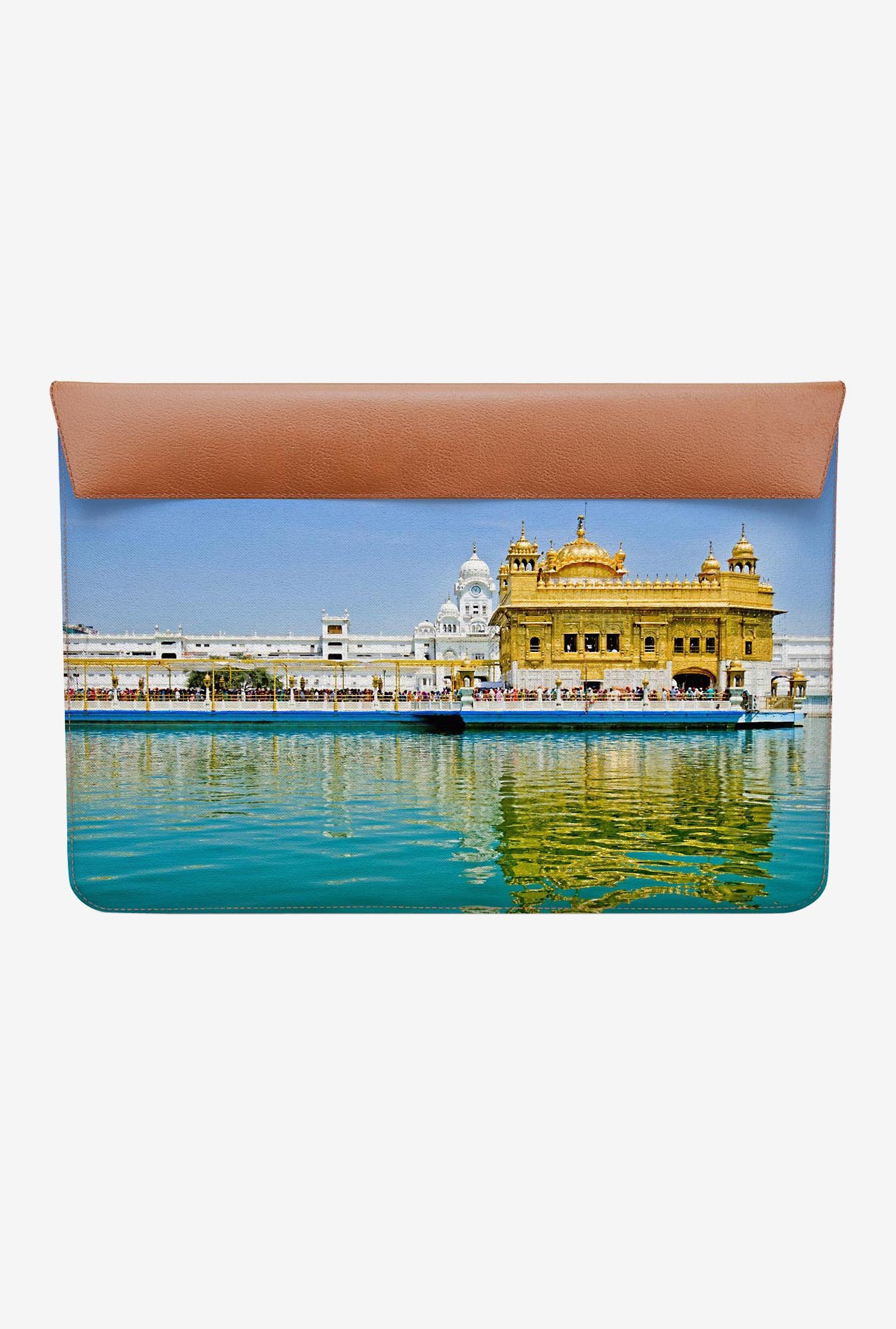 DailyObjects Golden Temple MacBook Air 11 Envelope Sleeve