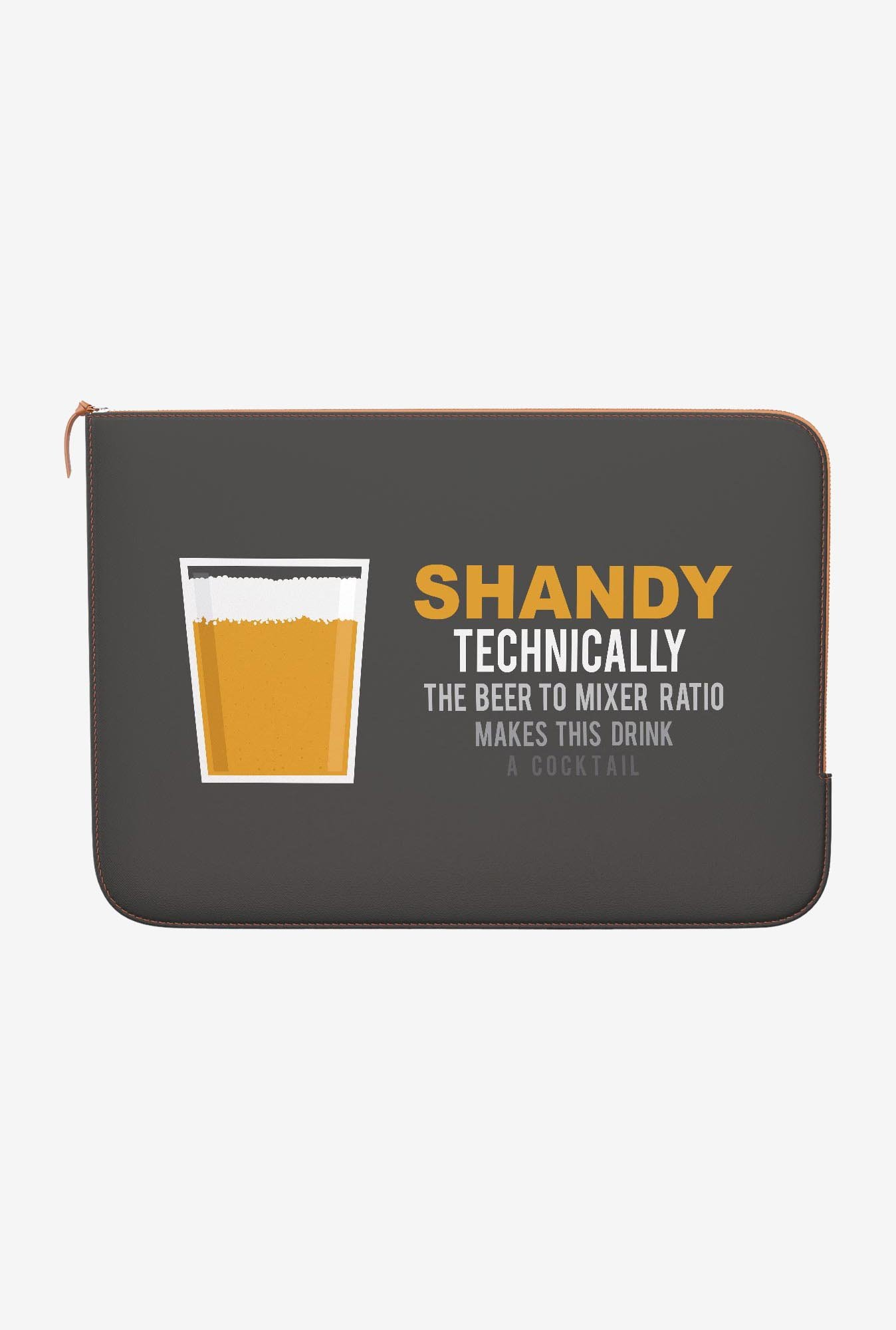 DailyObjects Lager Shandy MacBook Air 11 Zippered Sleeve