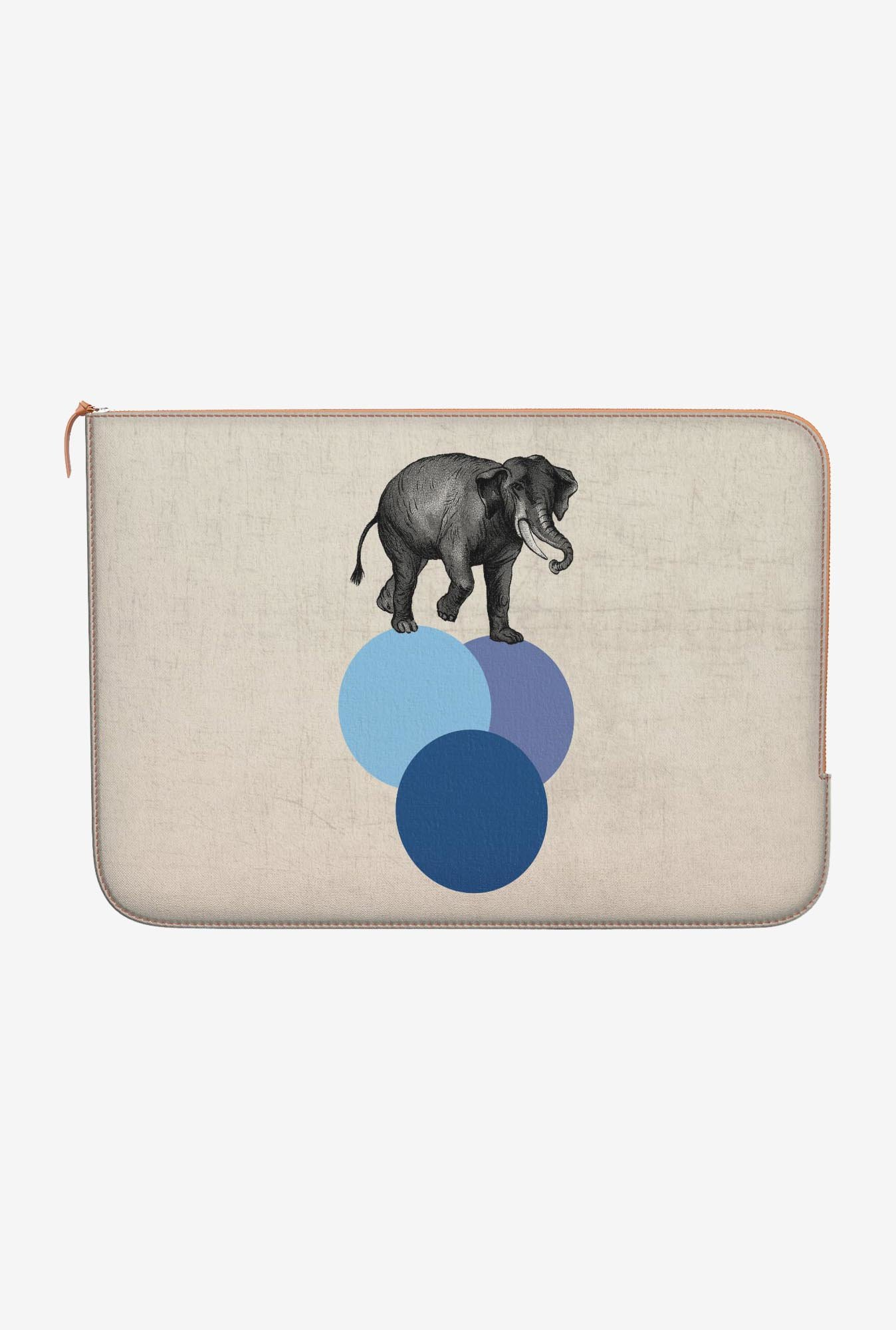 DailyObjects Elephant MacBook 12 Zippered Sleeve