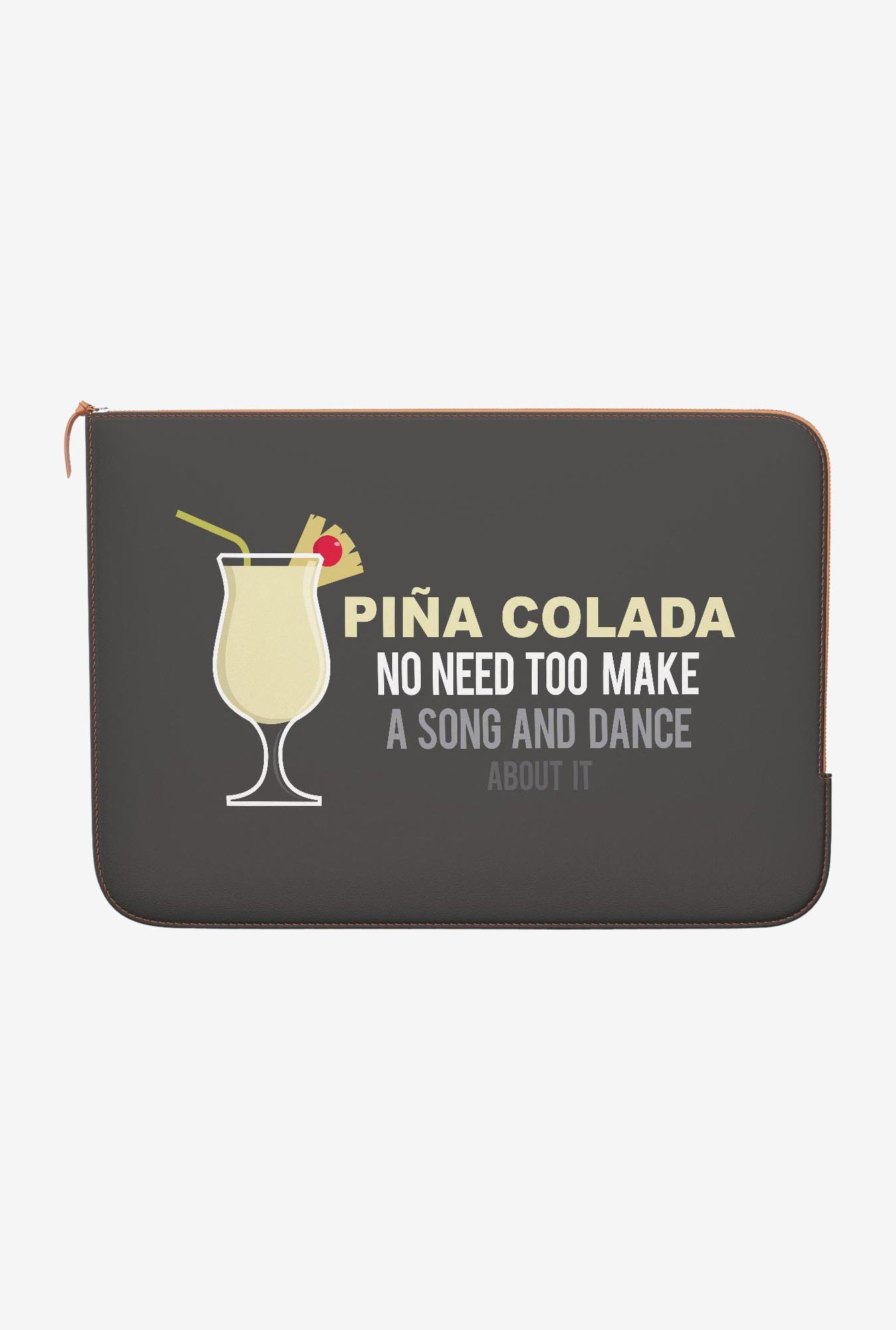 DailyObjects Pina Colada MacBook 12 Zippered Sleeve