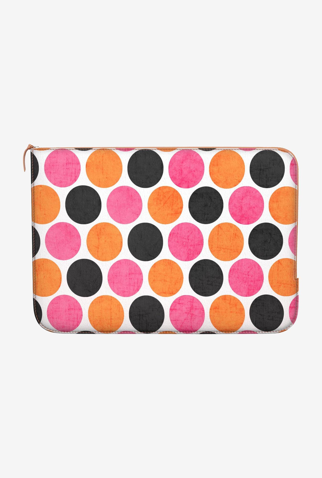 DailyObjects Polka Dots MacBook 12 Zippered Sleeve