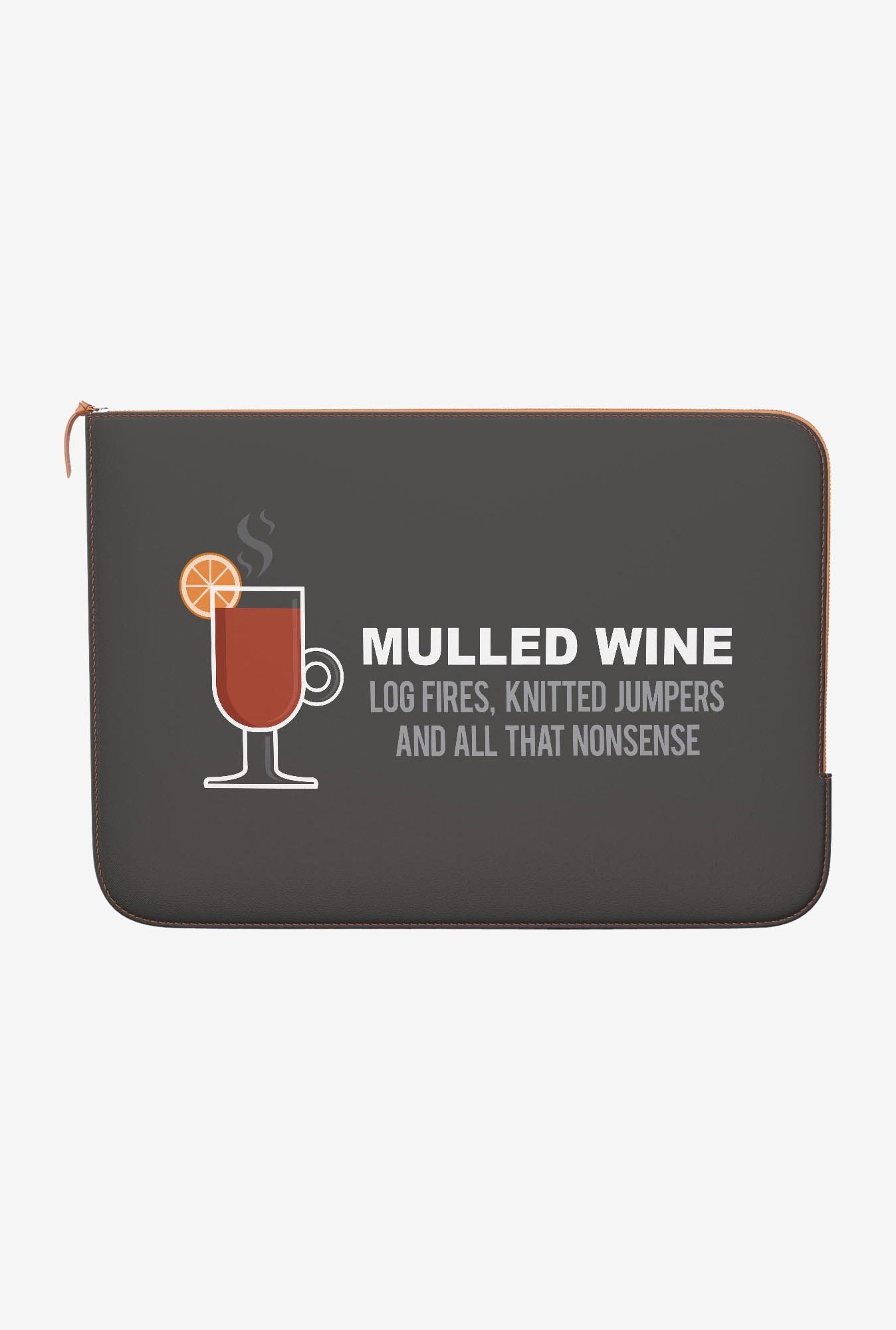 DailyObjects Mulled Wine MacBook 12 Zippered Sleeve