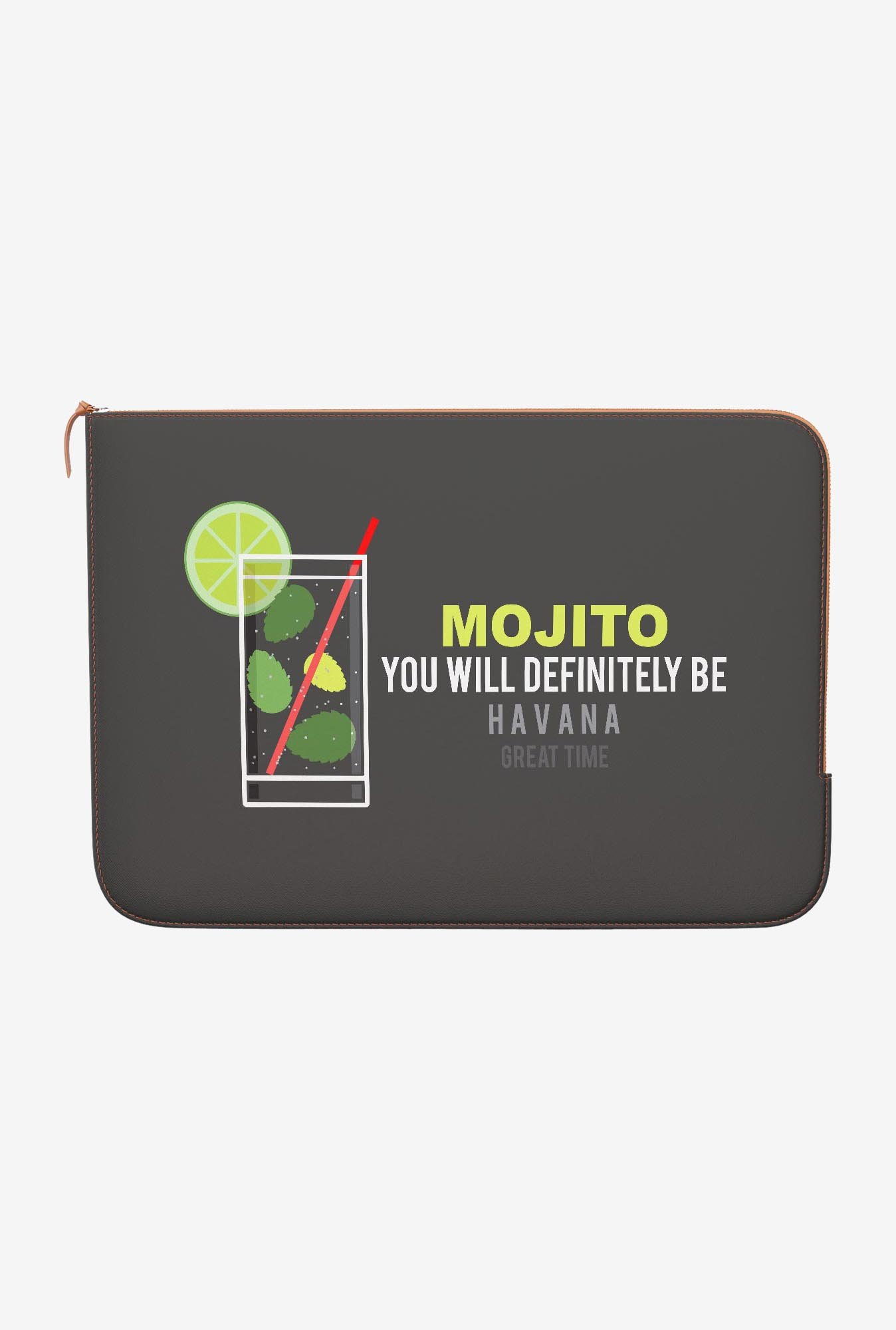 DailyObjects Mojito MacBook Pro 15 Zippered Sleeve