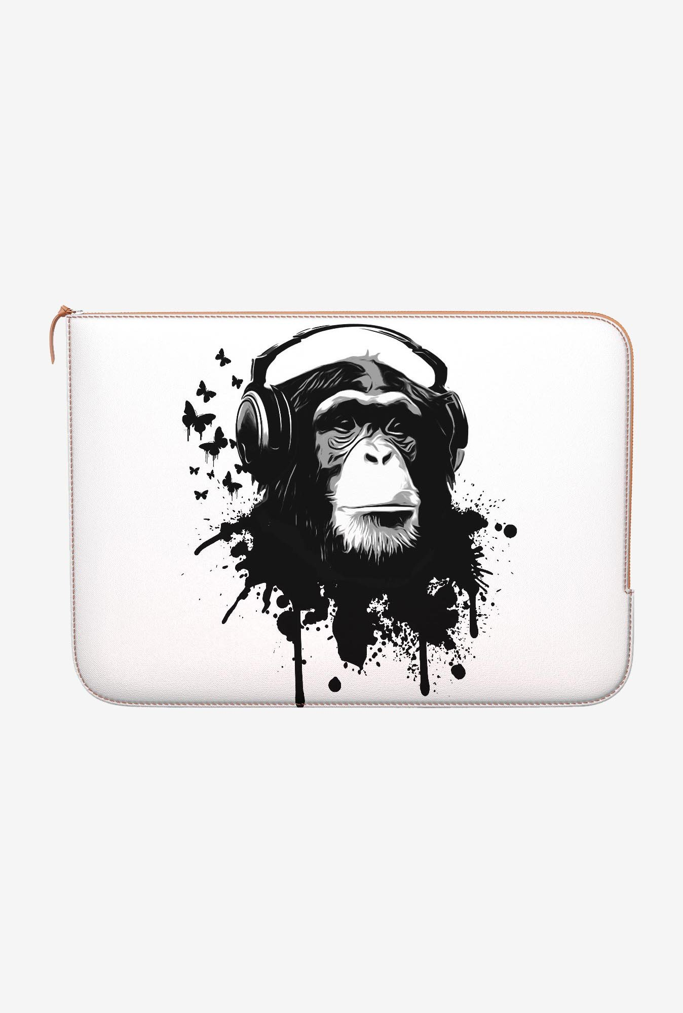 DailyObjects Monkey Business MacBook Pro 13 Zippered Sleeve