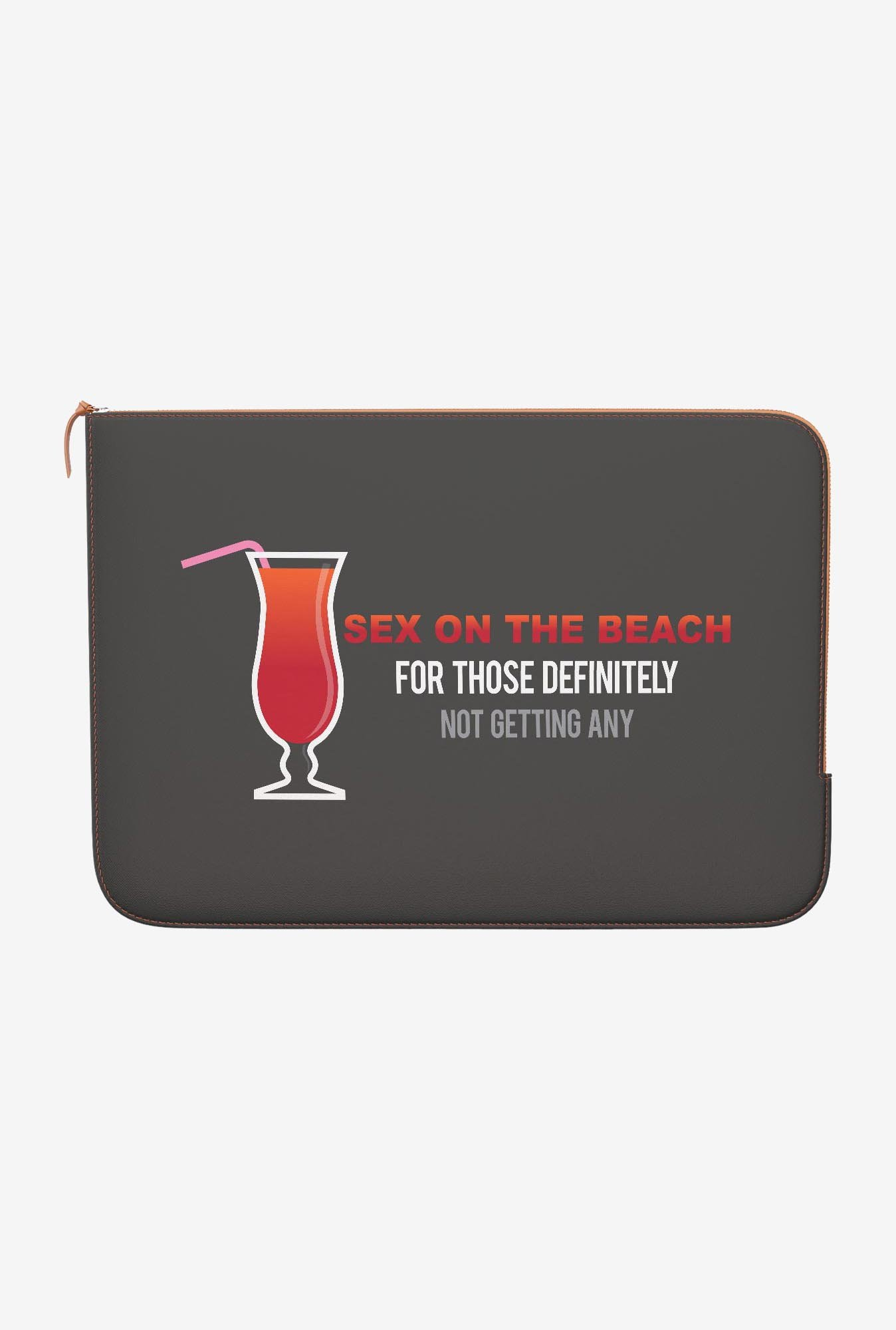 DailyObjects On The Beach MacBook Pro 15 Zippered Sleeve
