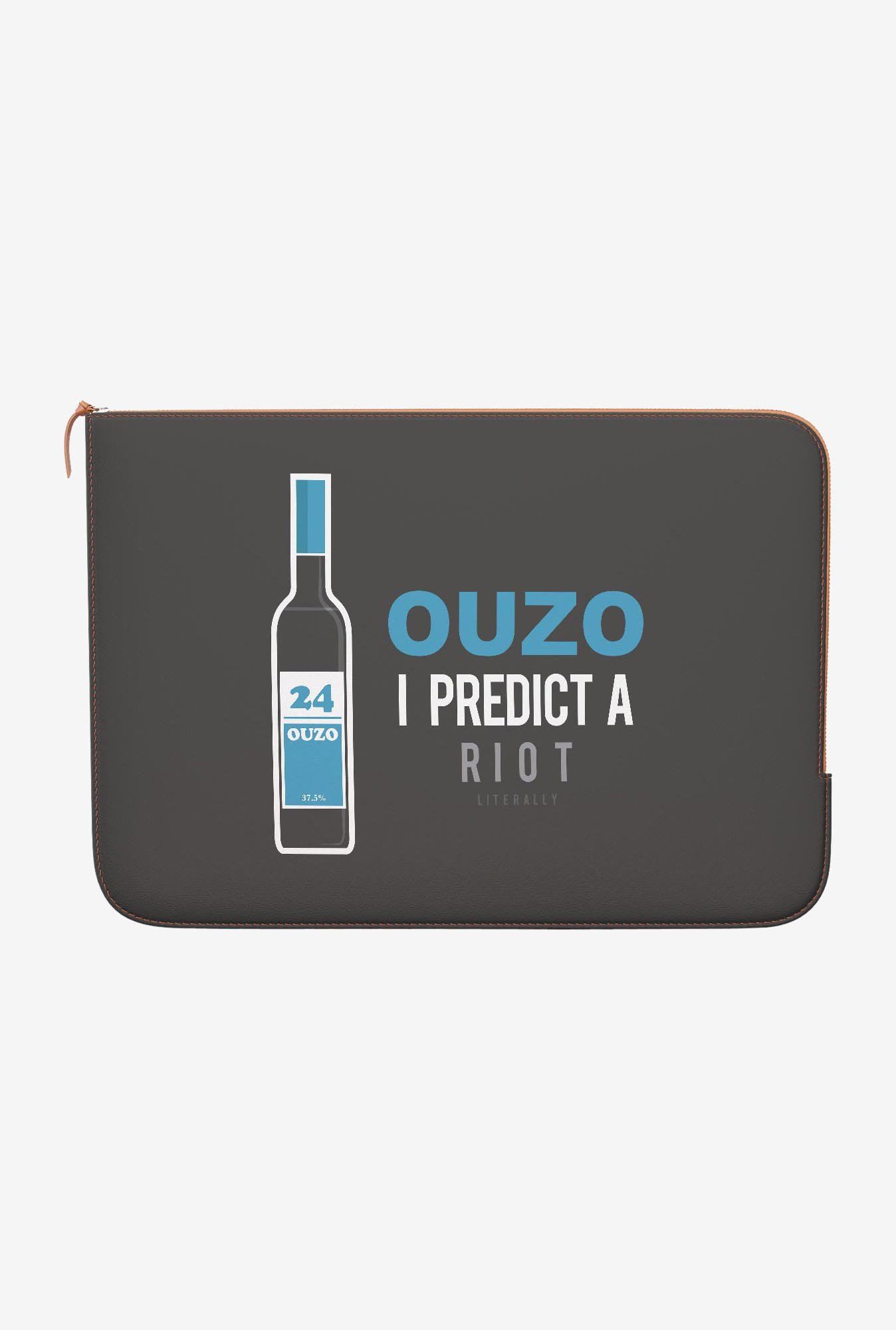DailyObjects Ouzo MacBook 12 Zippered Sleeve