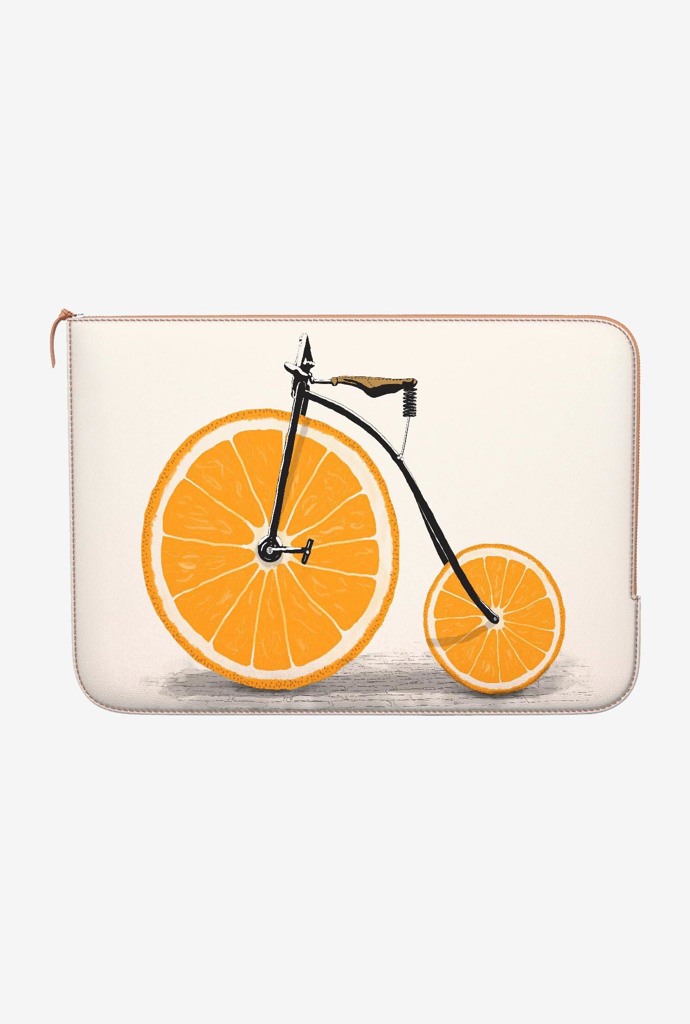 DailyObjects Penny Wheels MacBook 12 Zippered Sleeve