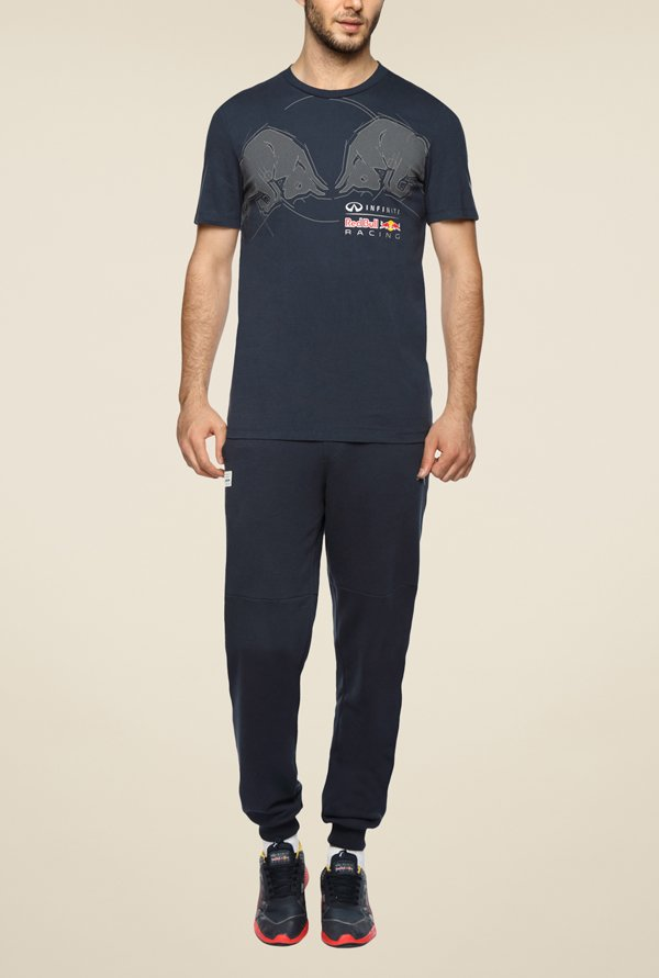 Puma IRBR Navy Solid Trackpant