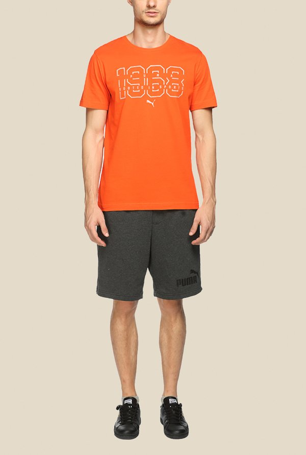 Puma Blaze 68 Orange Graphic T Shirt