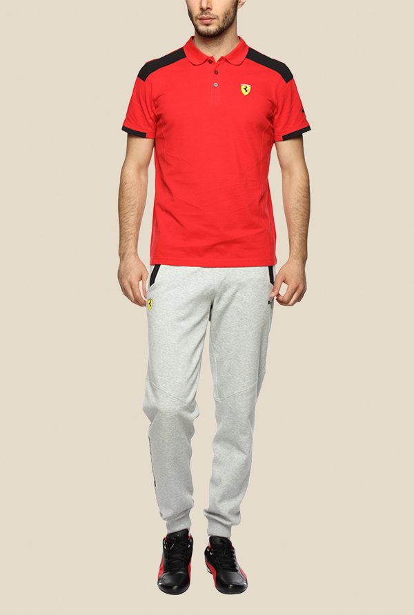 Puma SF Red Polo T Shirt