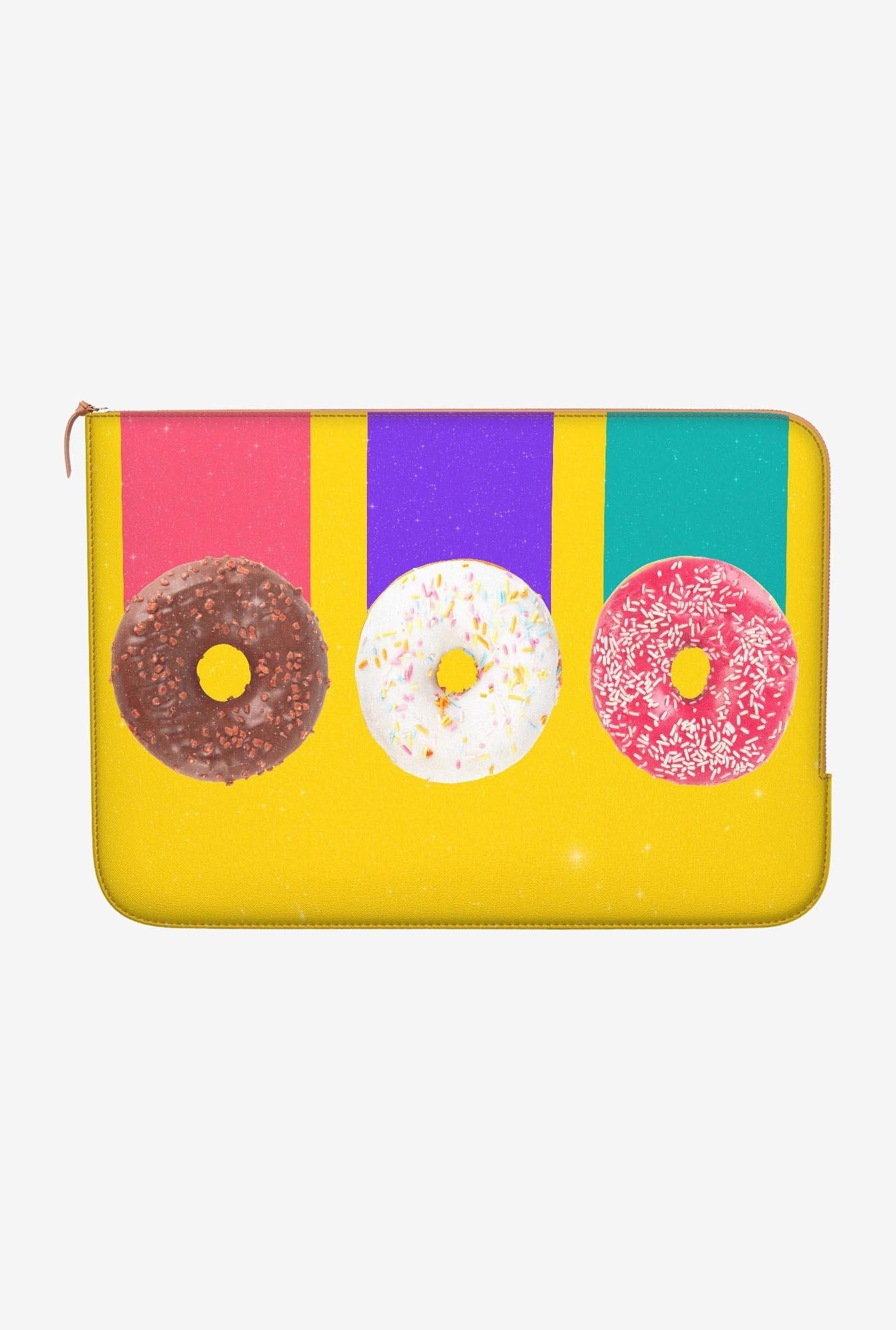 DailyObjects Trio Donuts MacBook 12 Zippered Sleeve